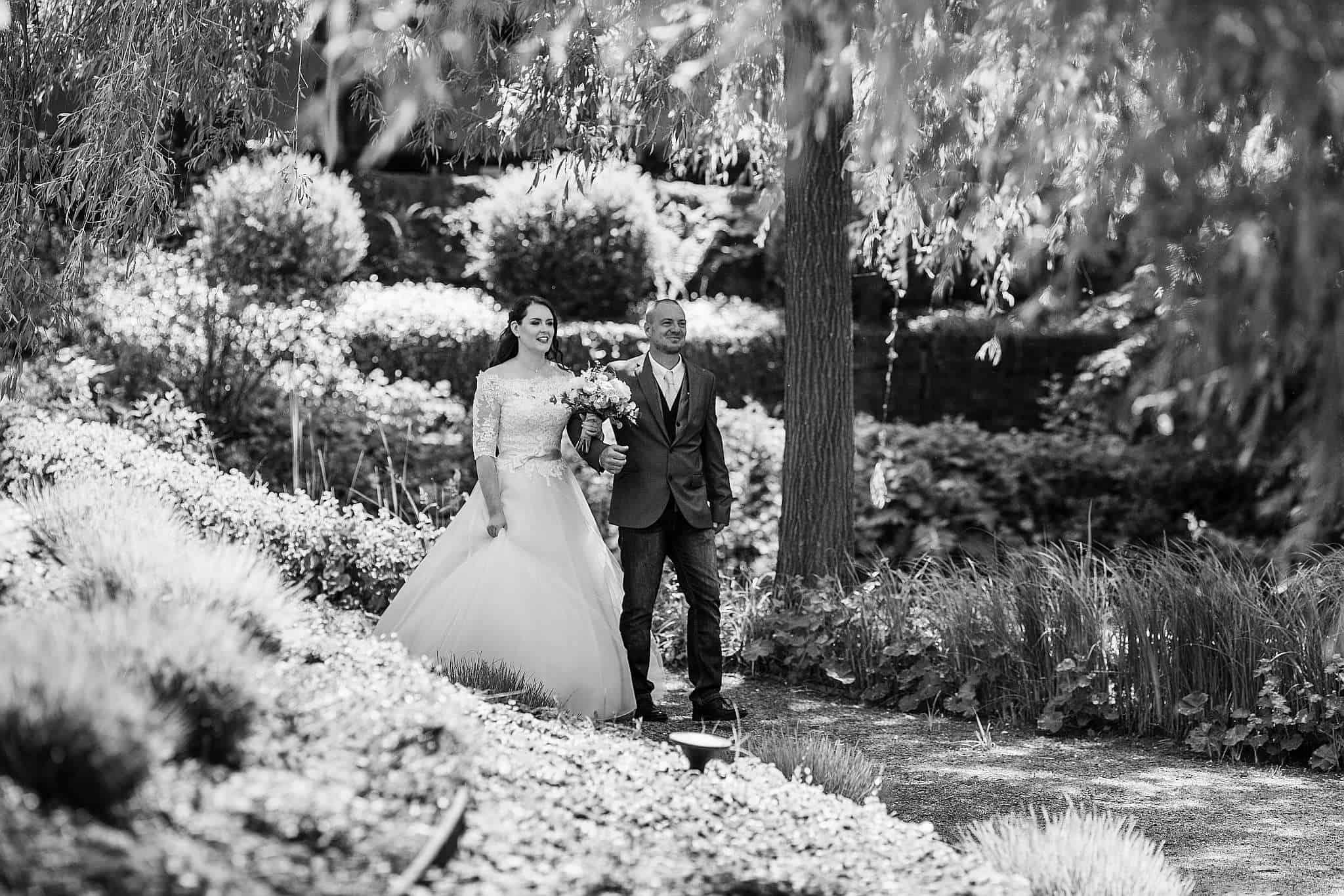 Die Braut zieht ein