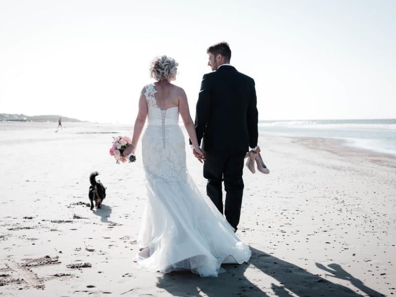 Als Hochzeitsfotograf in Renesse, Holland: Lisa und Michael