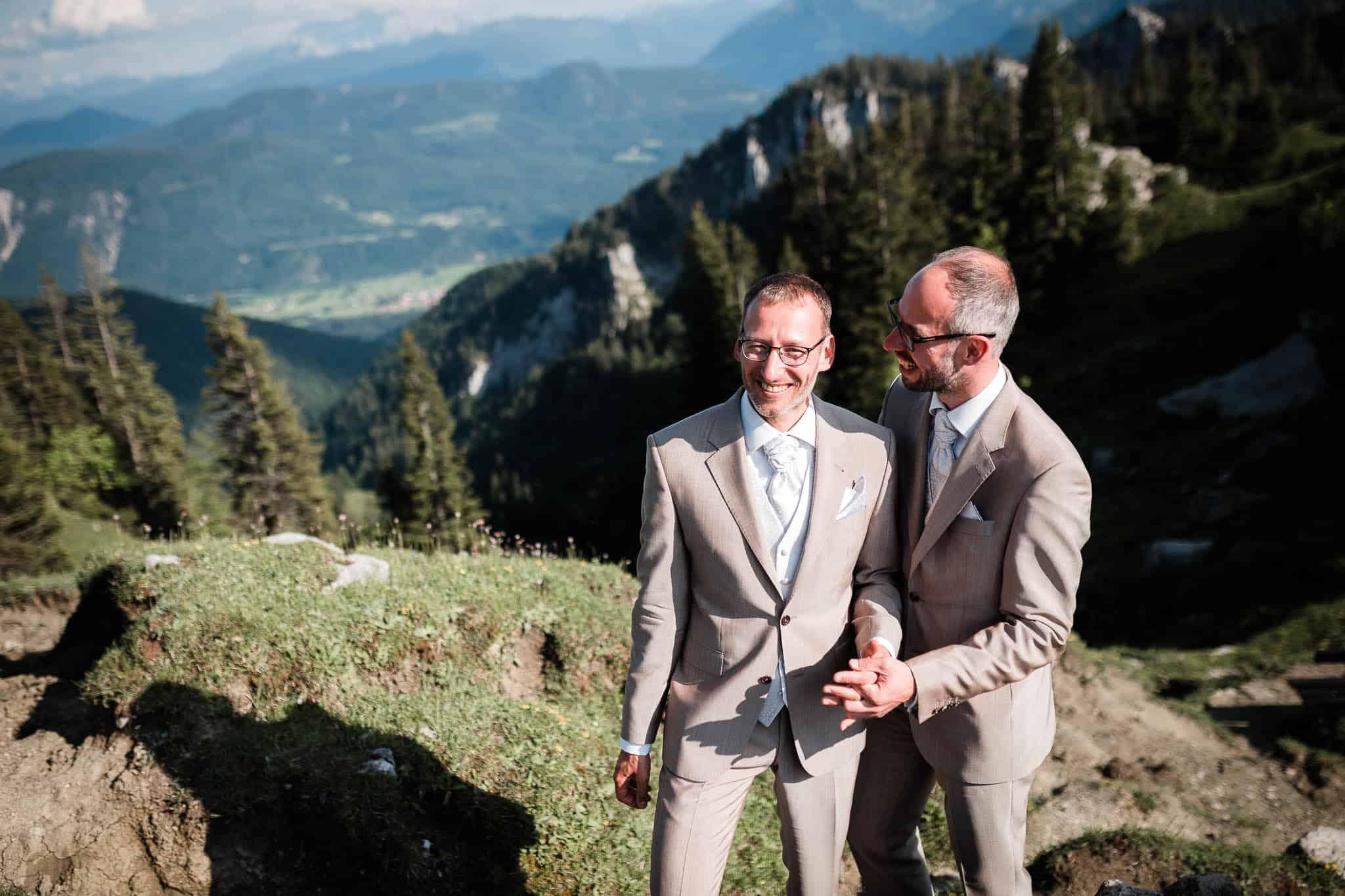 Hochzeitsfotografie Alpen