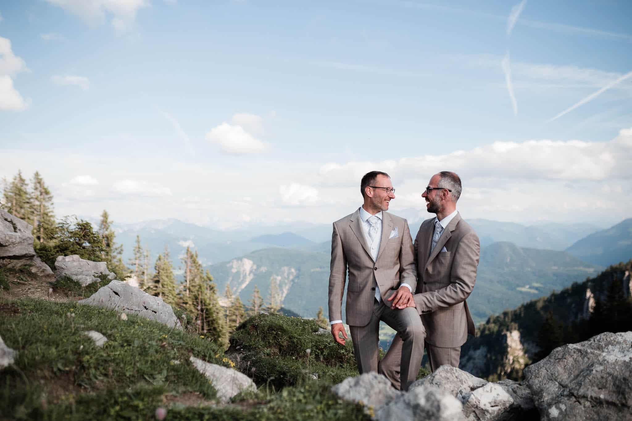 Hochzeitsfotos Alpen
