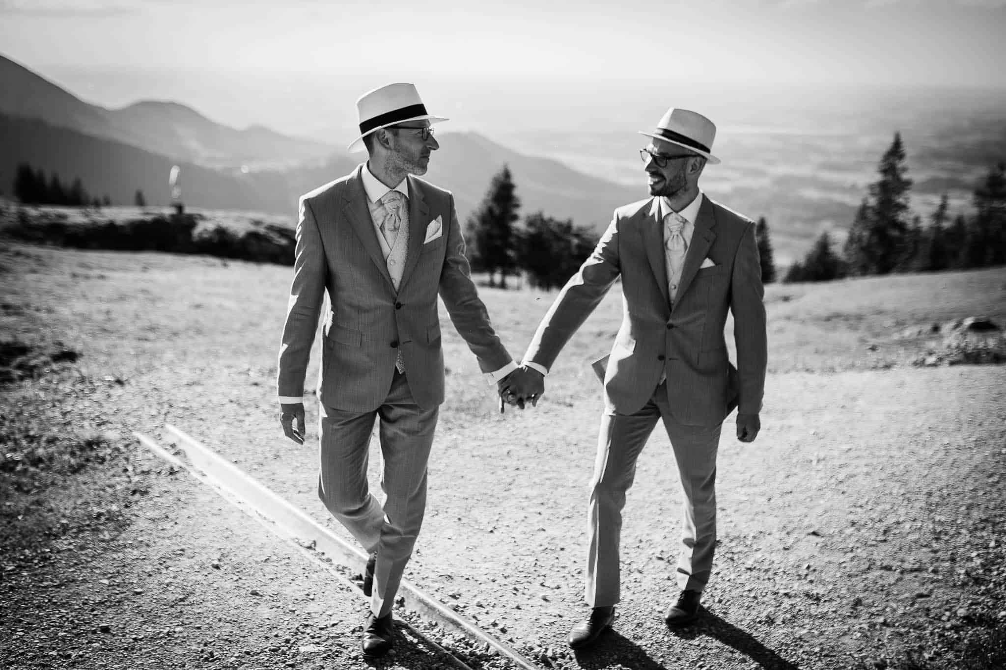 Hochzeitsshooting Alpen