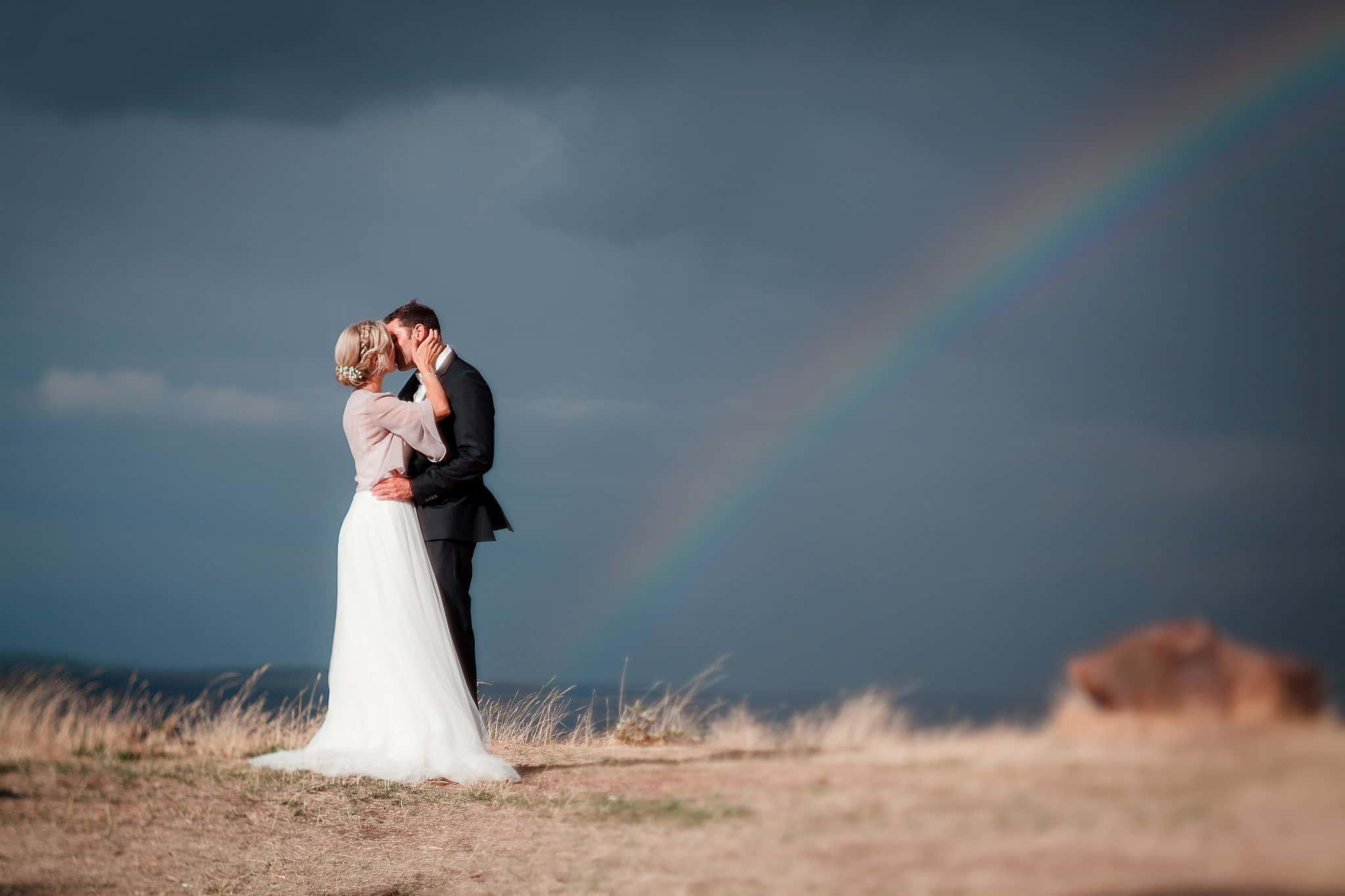 Regenbogen beim Brautpaarshooting in Limburg an der Lahn