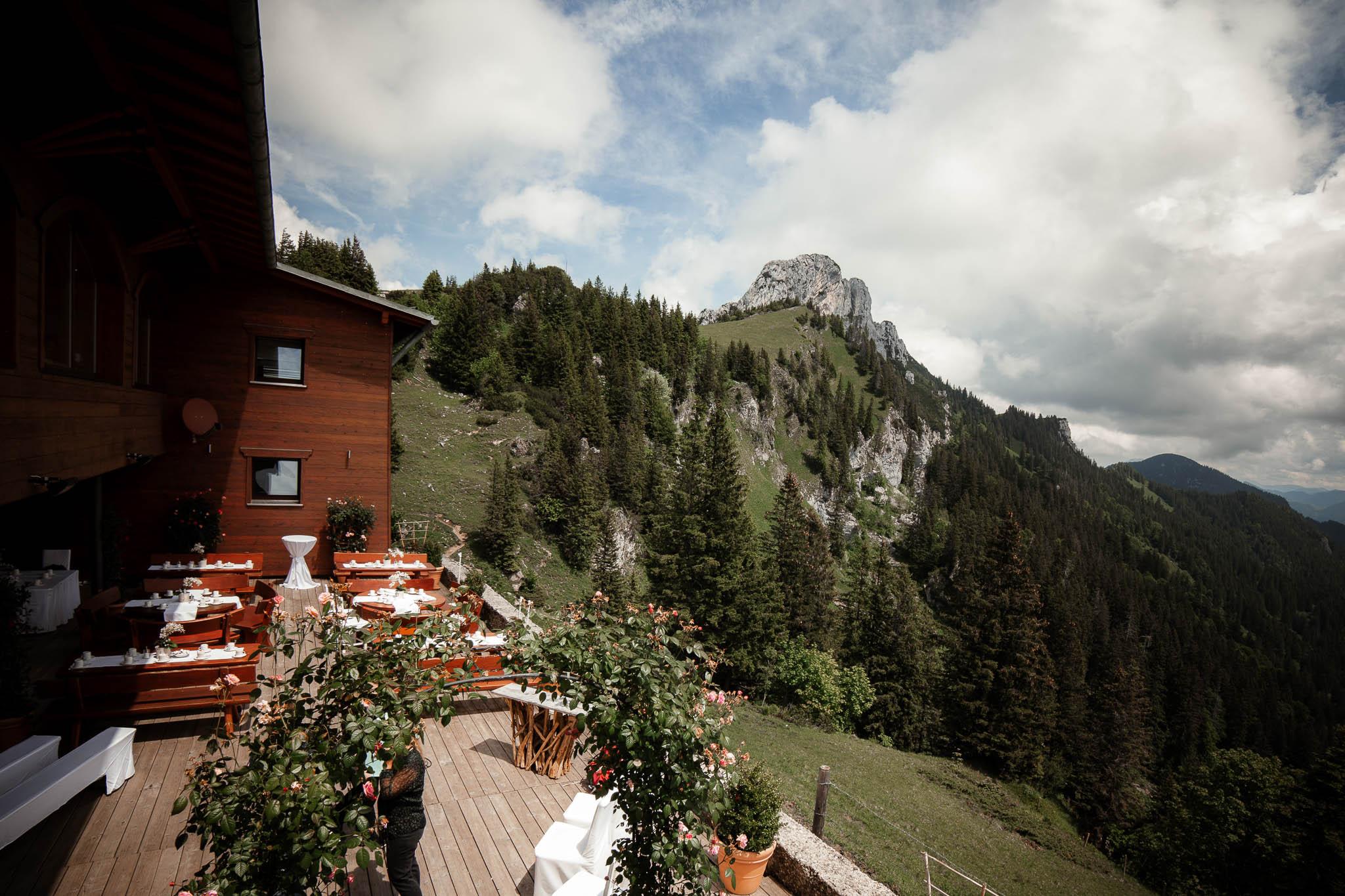 Hochzeitsfotograf Alpen, Chiemgau: freie Trauung von Dennis & Dirk 18
