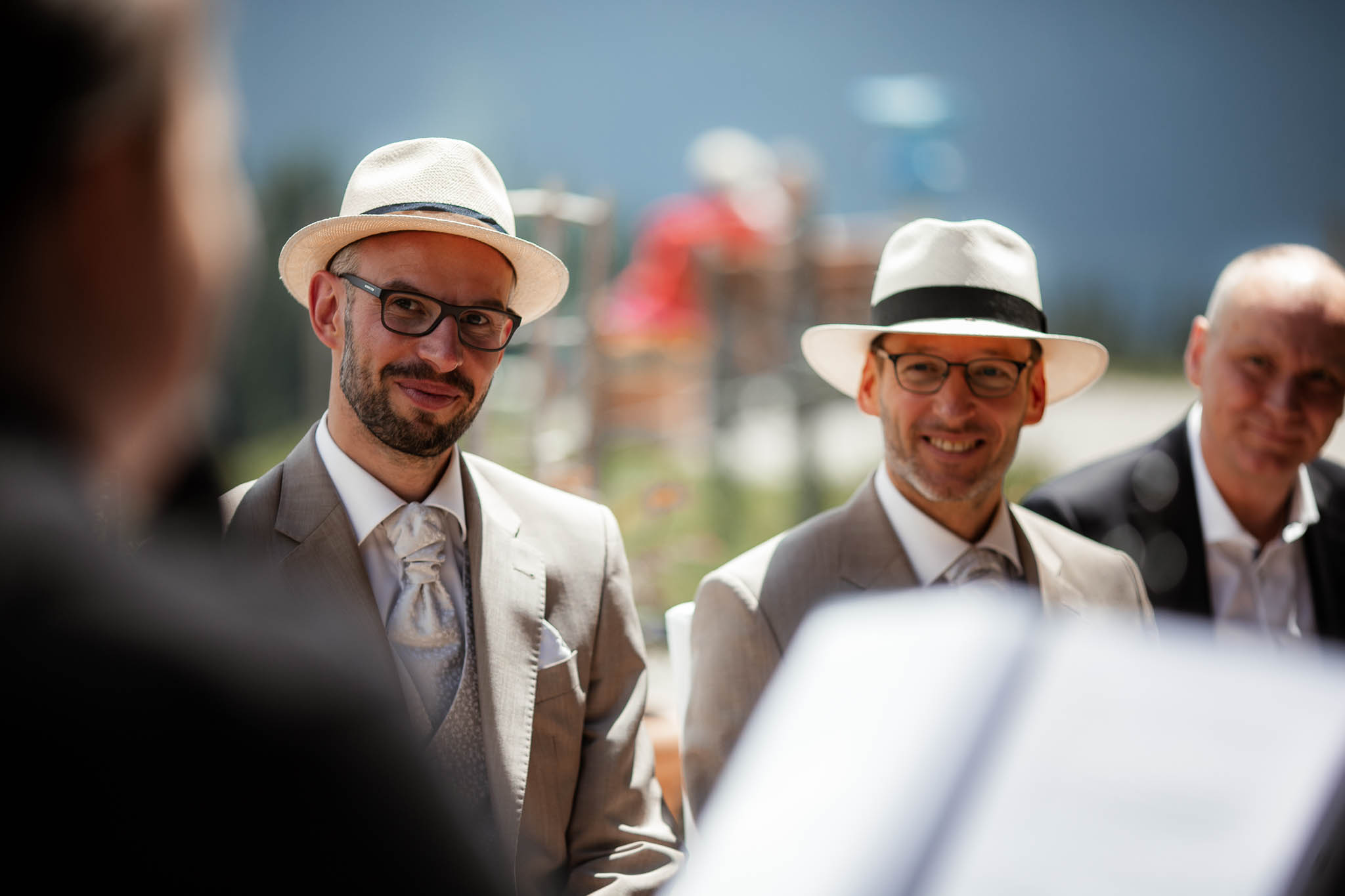 Hochzeitsfotograf Alpen, Chiemgau: freie Trauung von Dennis & Dirk 22