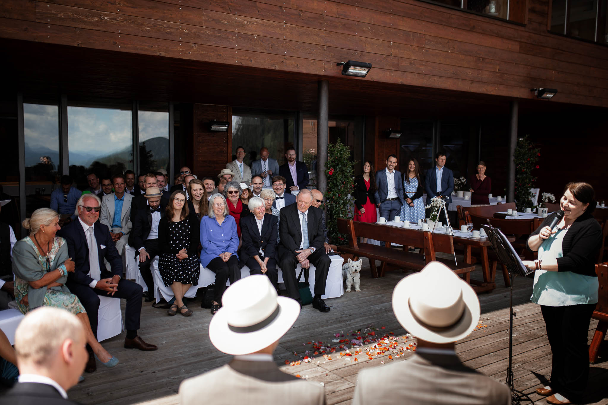 Hochzeitsfotograf Alpen, Chiemgau: freie Trauung von Dennis & Dirk 26