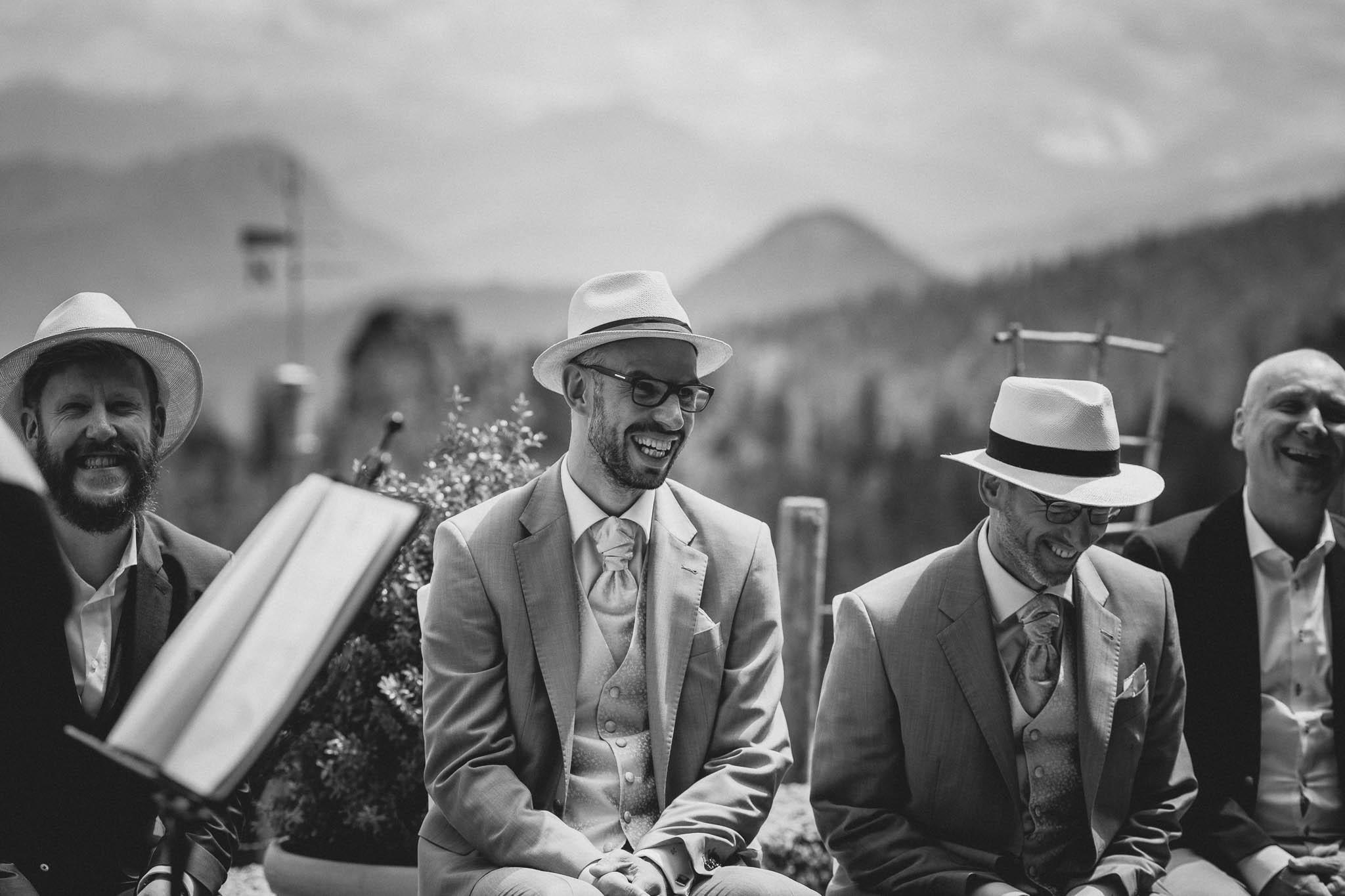 Hochzeitsfotograf Alpen, Chiemgau: freie Trauung von Dennis & Dirk 27