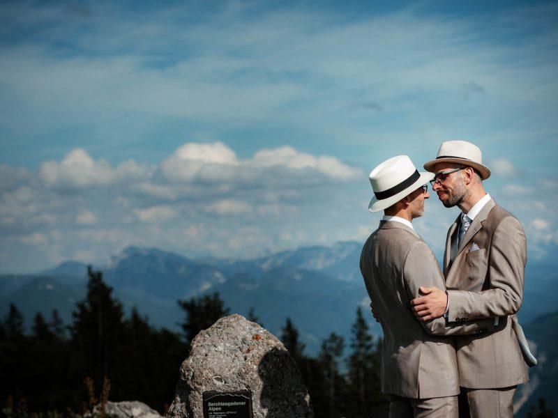 Hochzeit auf der Kampenwand: Dennis und Dirk
