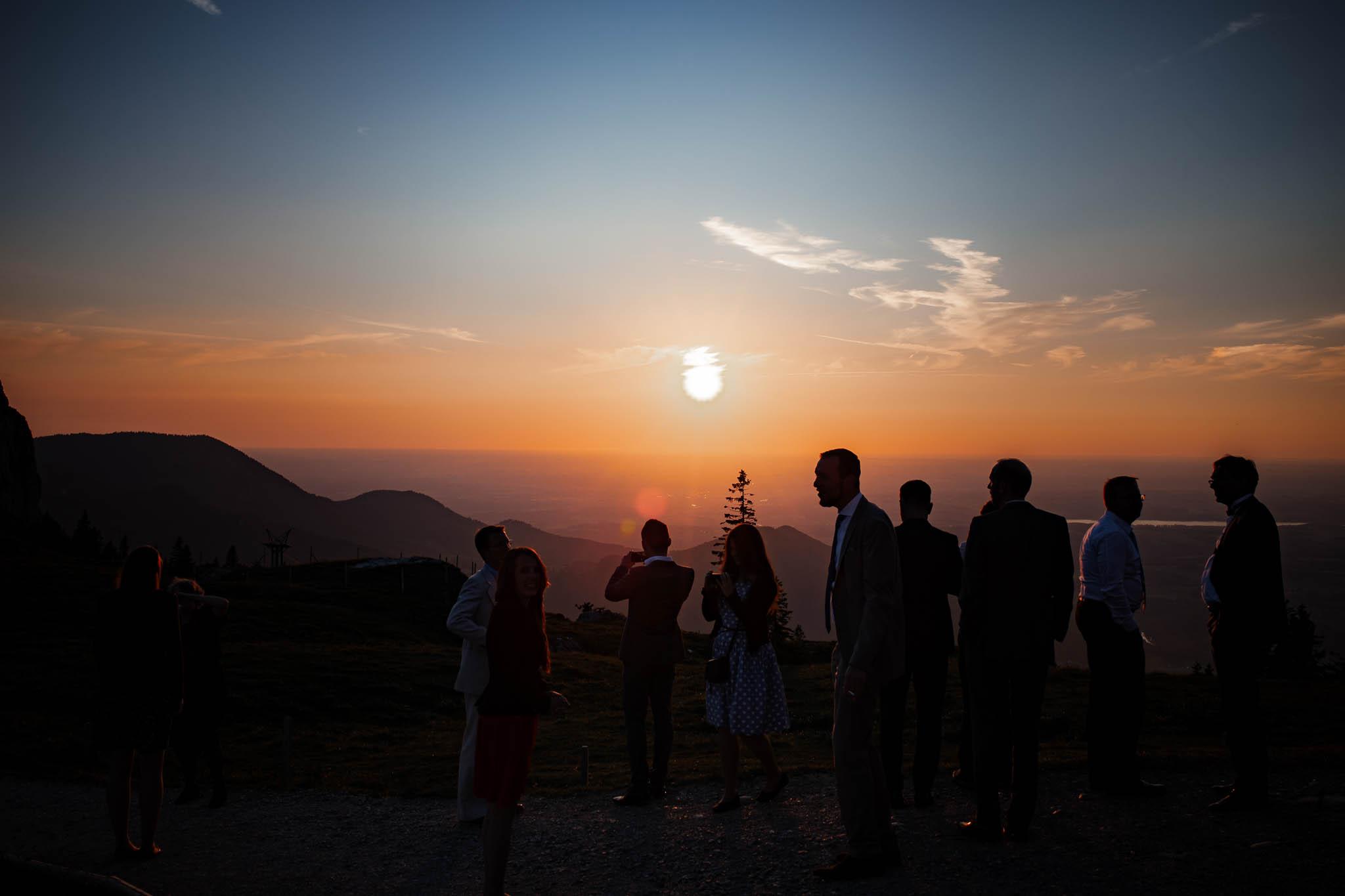 Hochzeitsfotograf Alpen, Chiemgau: freie Trauung von Dennis & Dirk 87