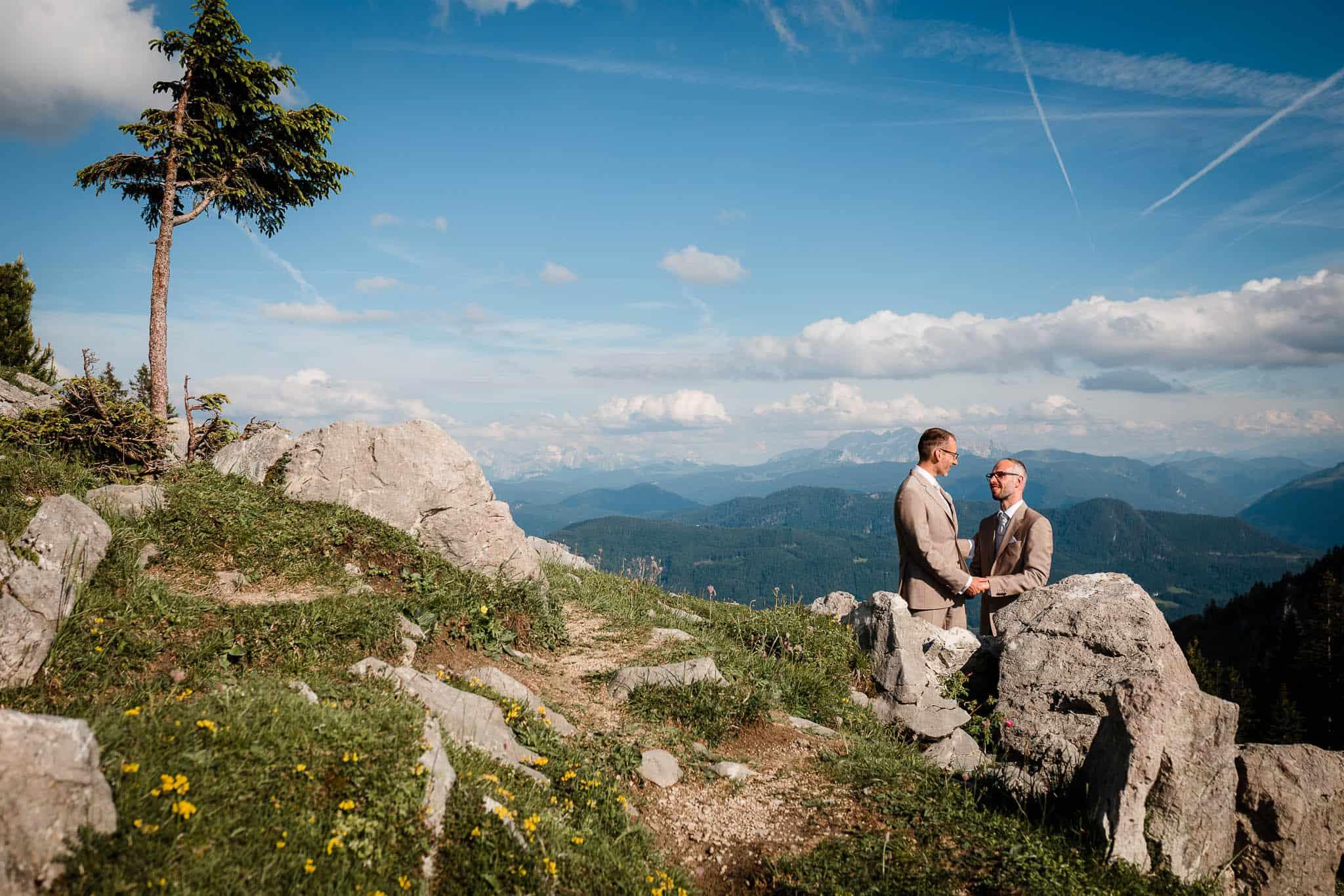 Hochzeitsfotograf Alpen
