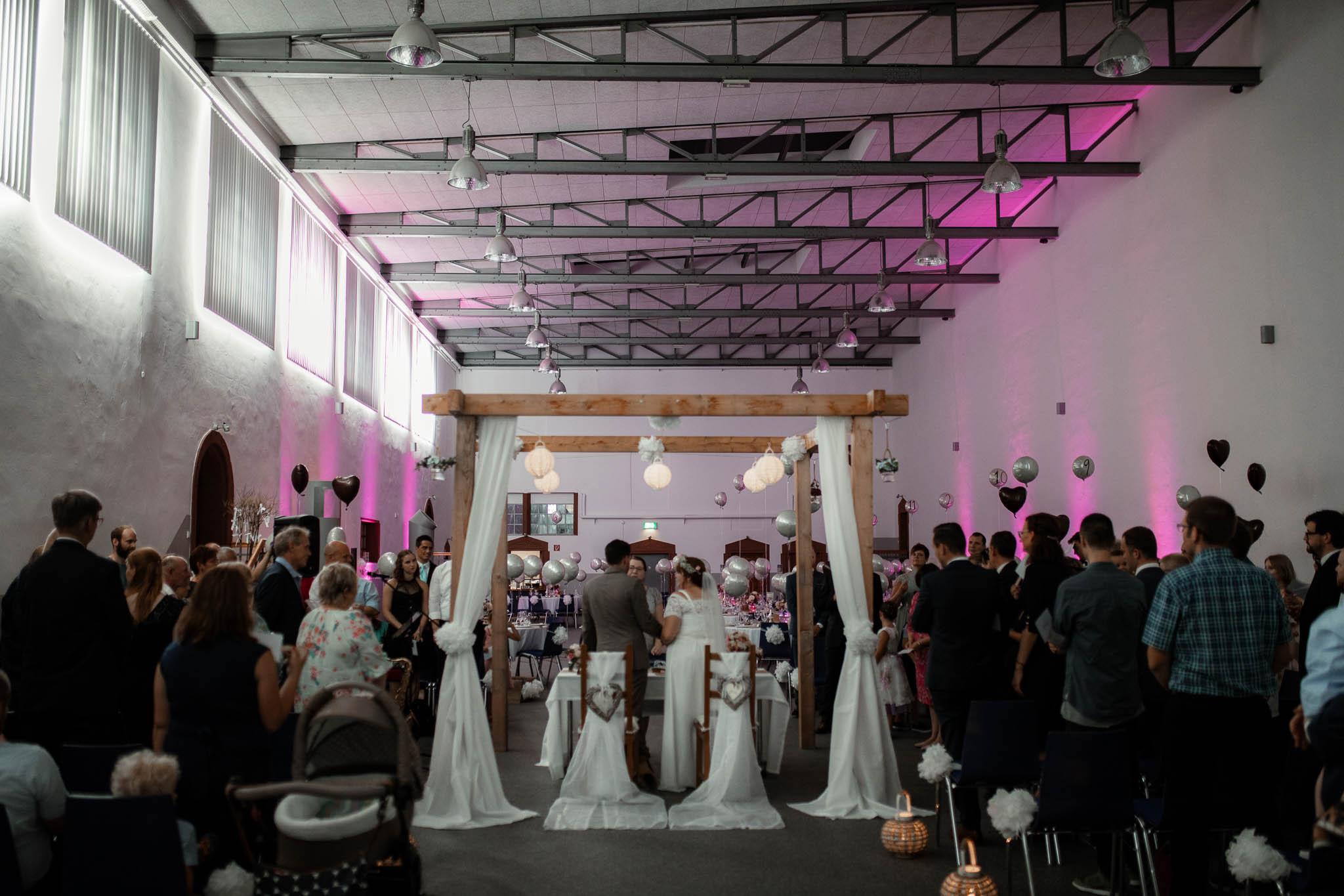Hochzeitsfotograf Worms, Freie Trauung im Kesselhaus: Marie und Chris 19