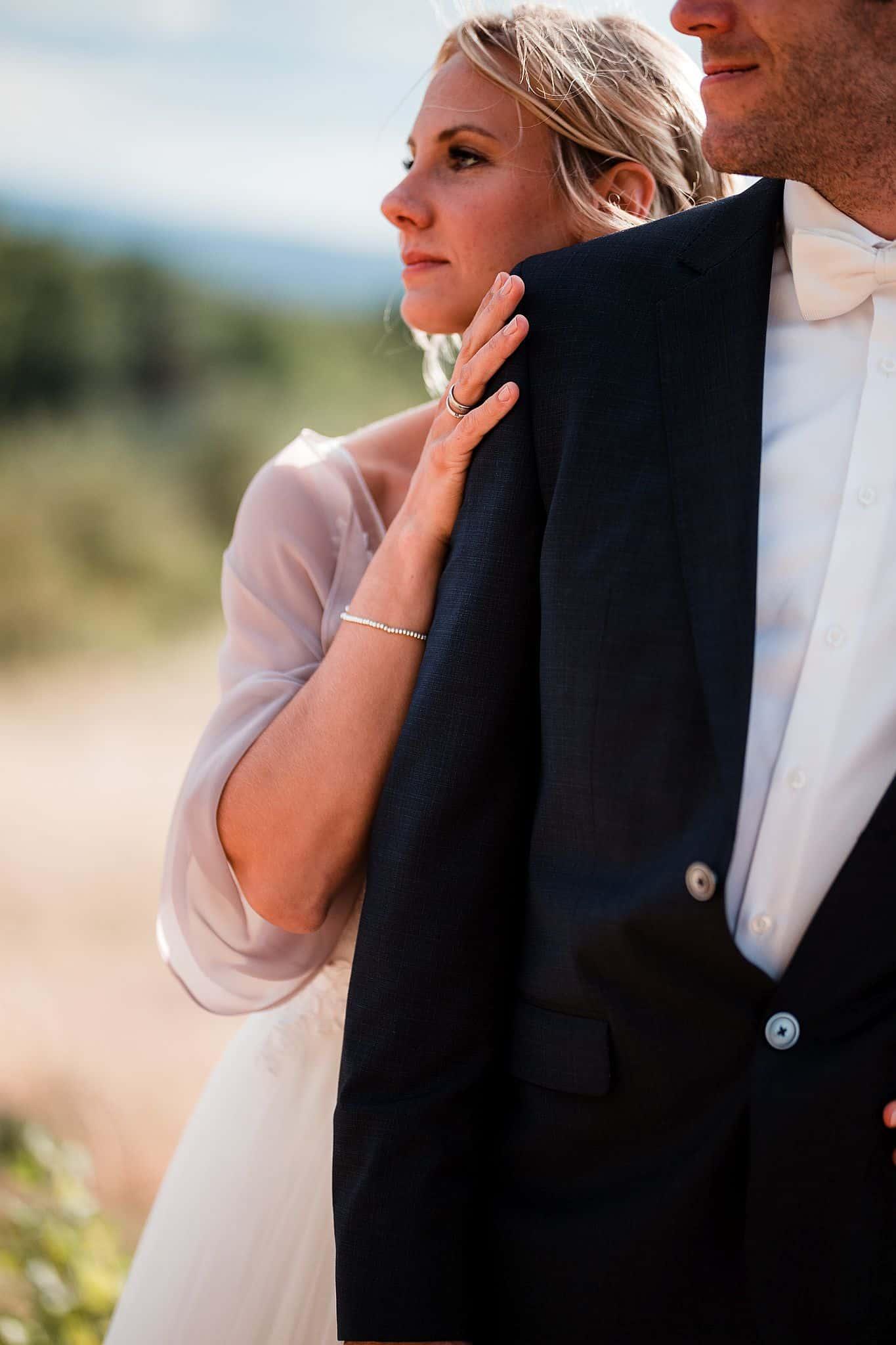 Details des Brautpaares