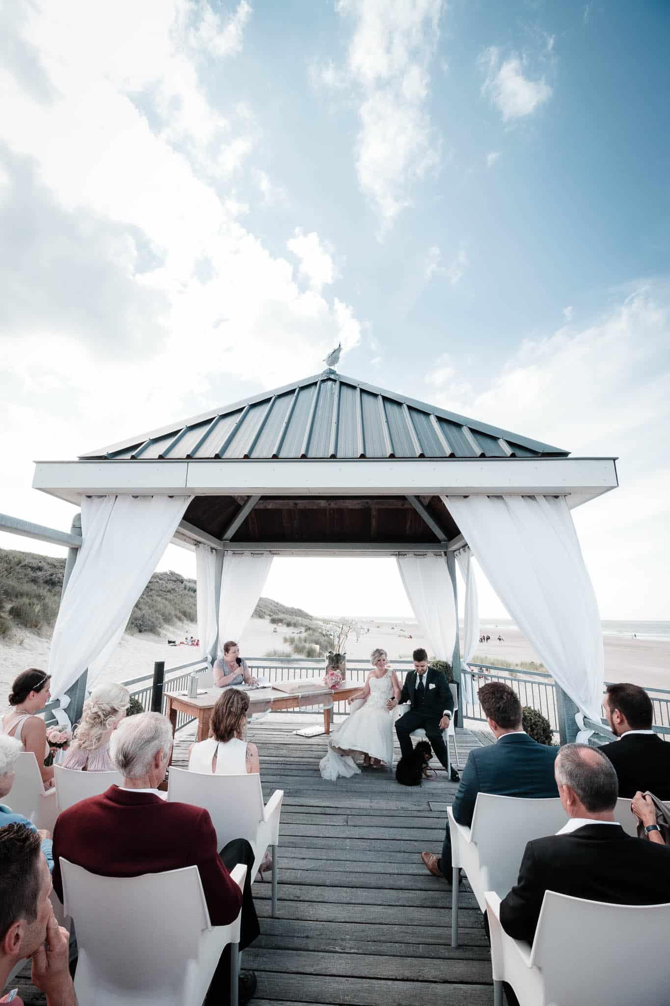 Traumkulisse für Hochzeitsfotos: der Strand von Renesse