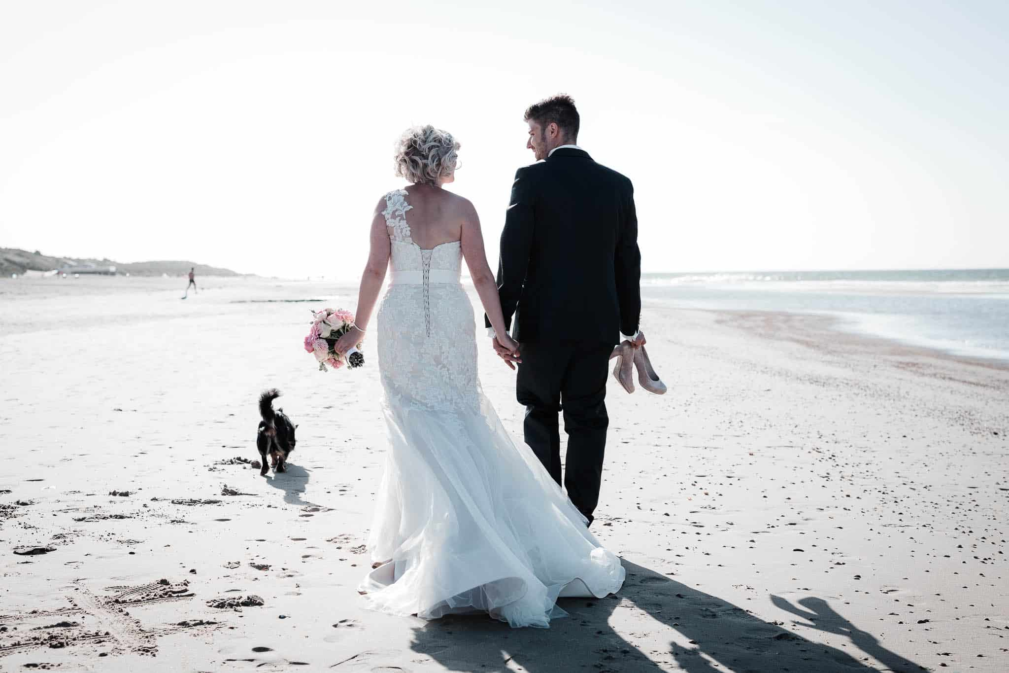 Freie Trauung Renesse, Holland: Lisa & Michael heiraten am Strand