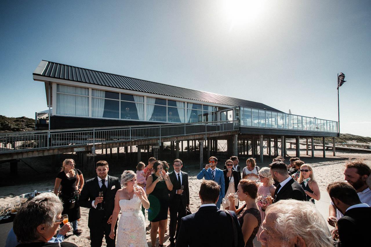 Hochzeitsfotograf Renesse, Holland: Lisa & Michael heiraten mit einer Freie Trauung am Strand 45