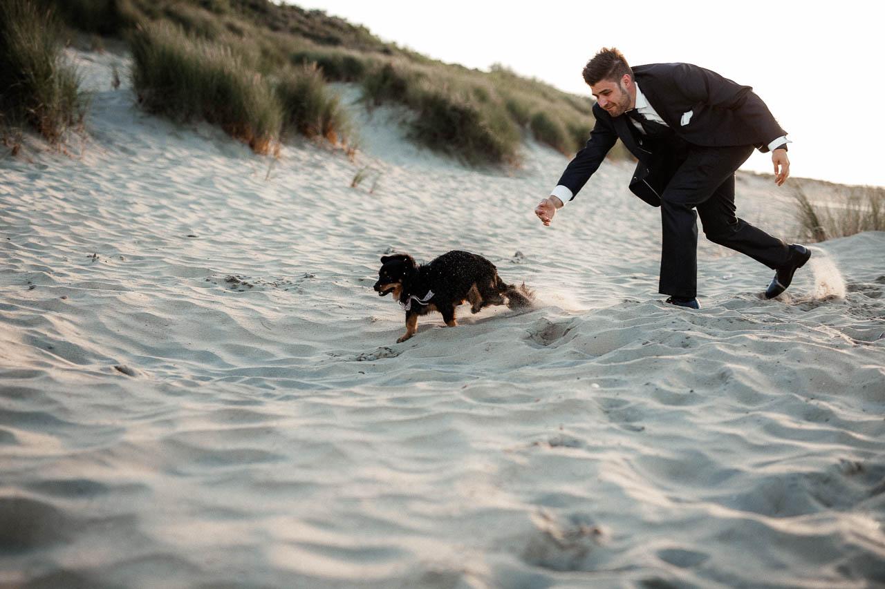 Hochzeitsfotograf Renesse, Holland: Lisa & Michael heiraten mit einer Freie Trauung am Strand 53