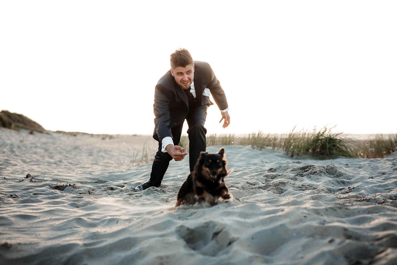 Hochzeitsfotograf Renesse, Holland: Lisa & Michael heiraten mit einer Freie Trauung am Strand 54
