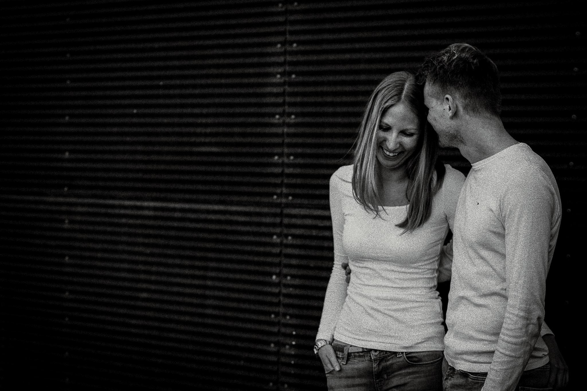 Urbane Paarfotos in Mannheim: Paarshooting mit Katja & Lars 16