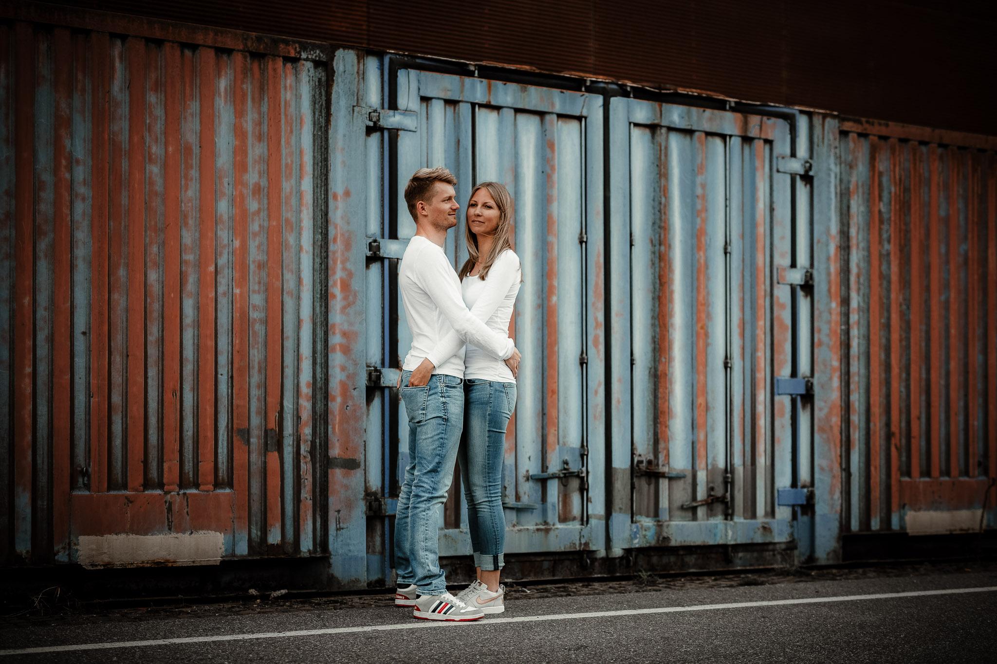 Urbane Paarfotos in Mannheim: Paarshooting mit Katja & Lars 6
