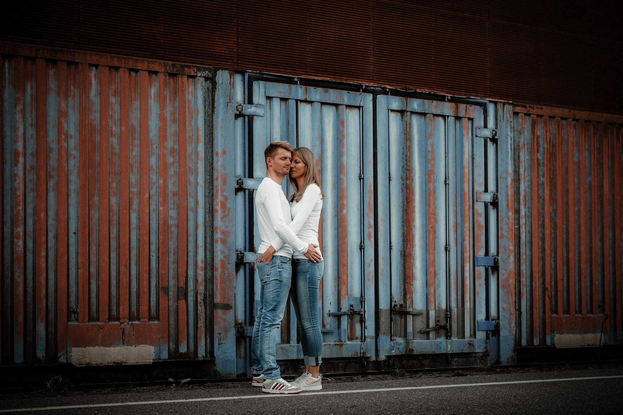 Urbane Paarfotos in Mannheim: Paarshooting mit Katja & Lars 7