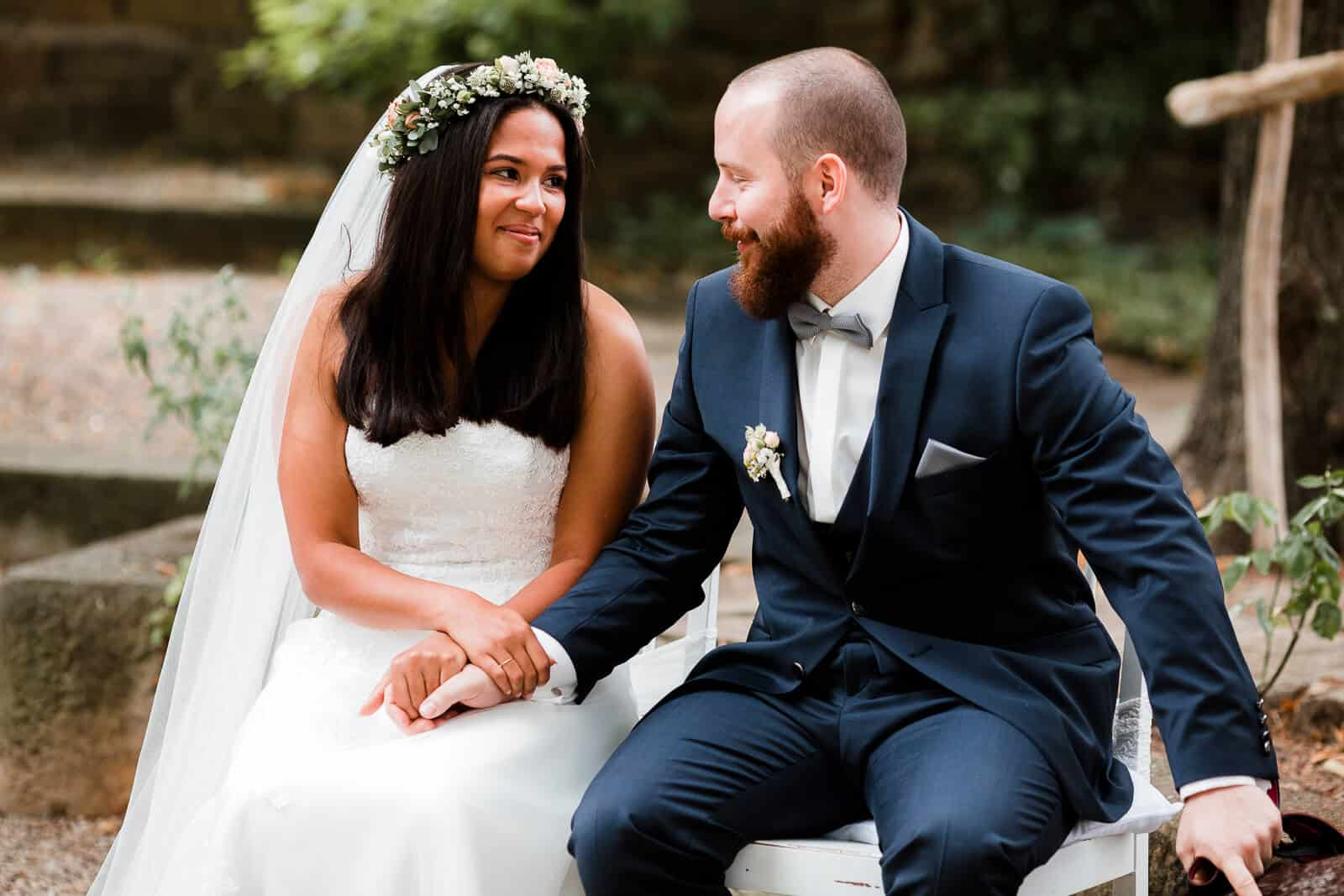 Hochzeit im Garten Weingut von Winning