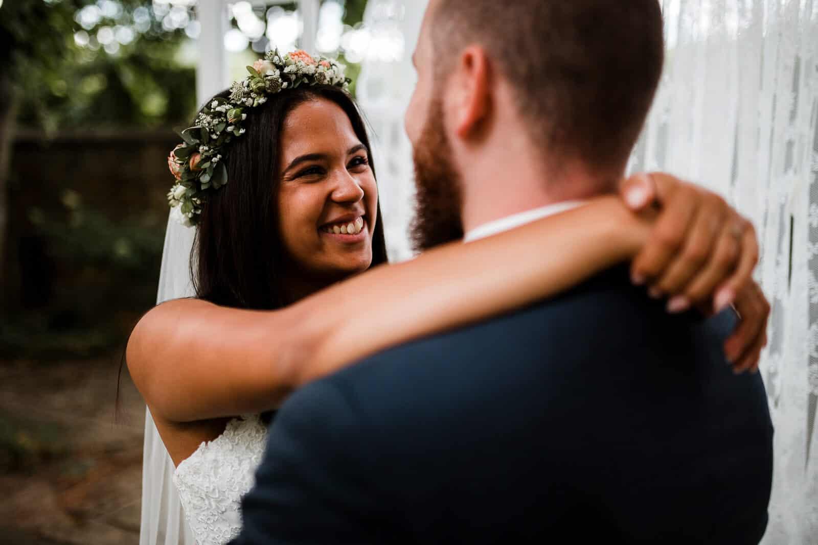 Hochzeitsshooting im Garten Weingut von Winning