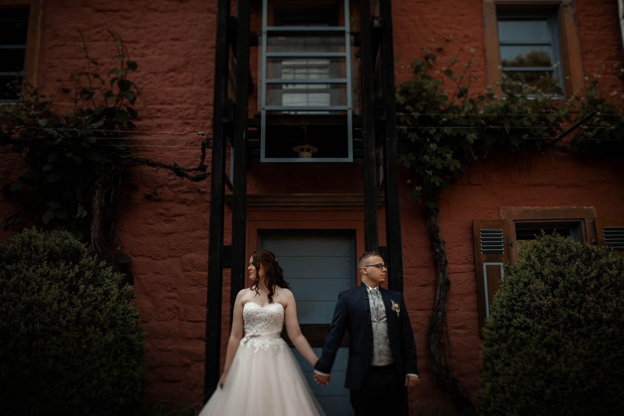 Hochzeitsfotograf Wartenberg-Rohrbach – Hochzeit in der Mühle am Schlossberg: Freie Trauung von Fine & Daniel