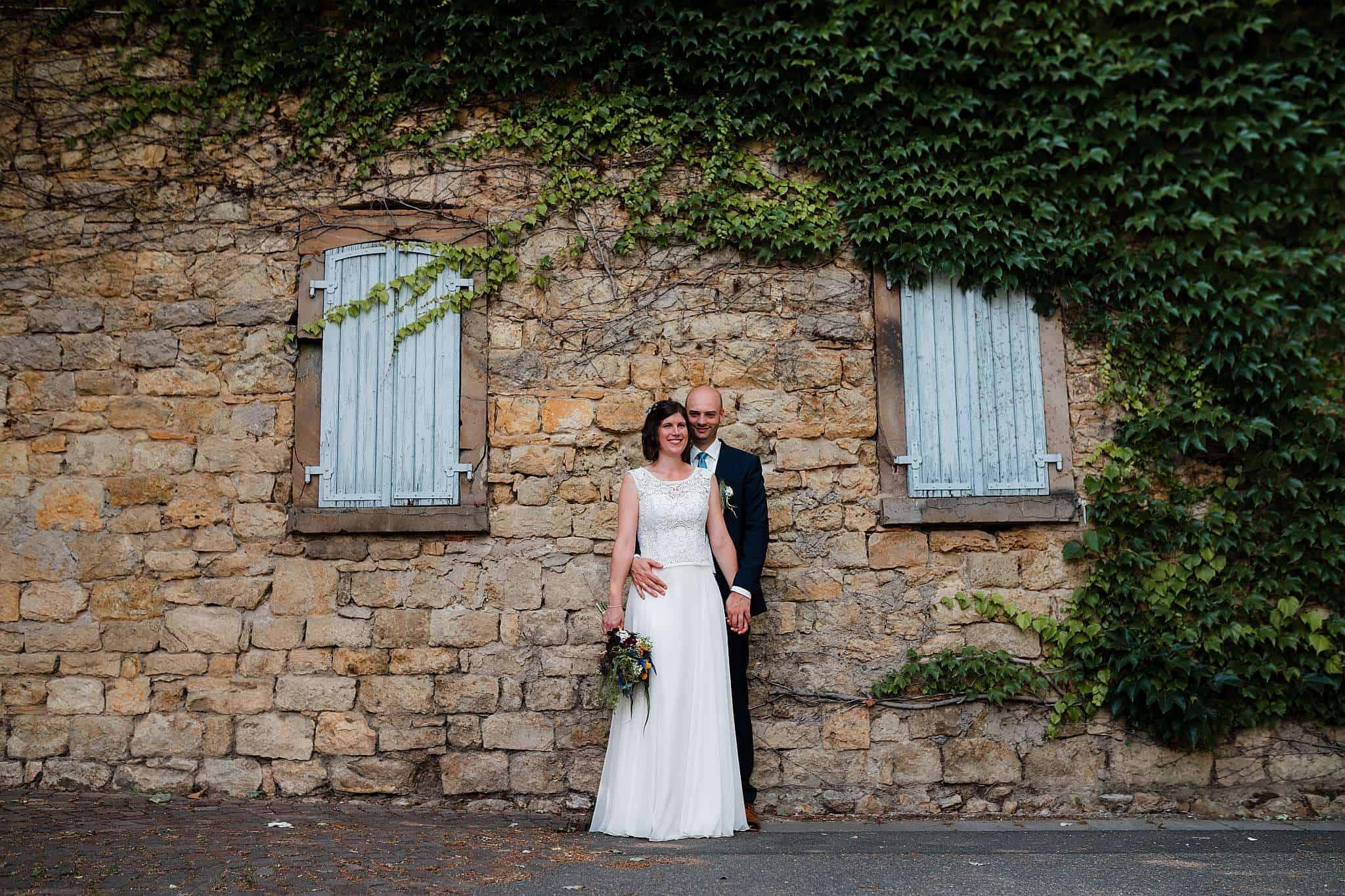 Wenn ihr auch in Guntersblum heiratet, könnt ihr euer Shooting direkt vor Ort machen!