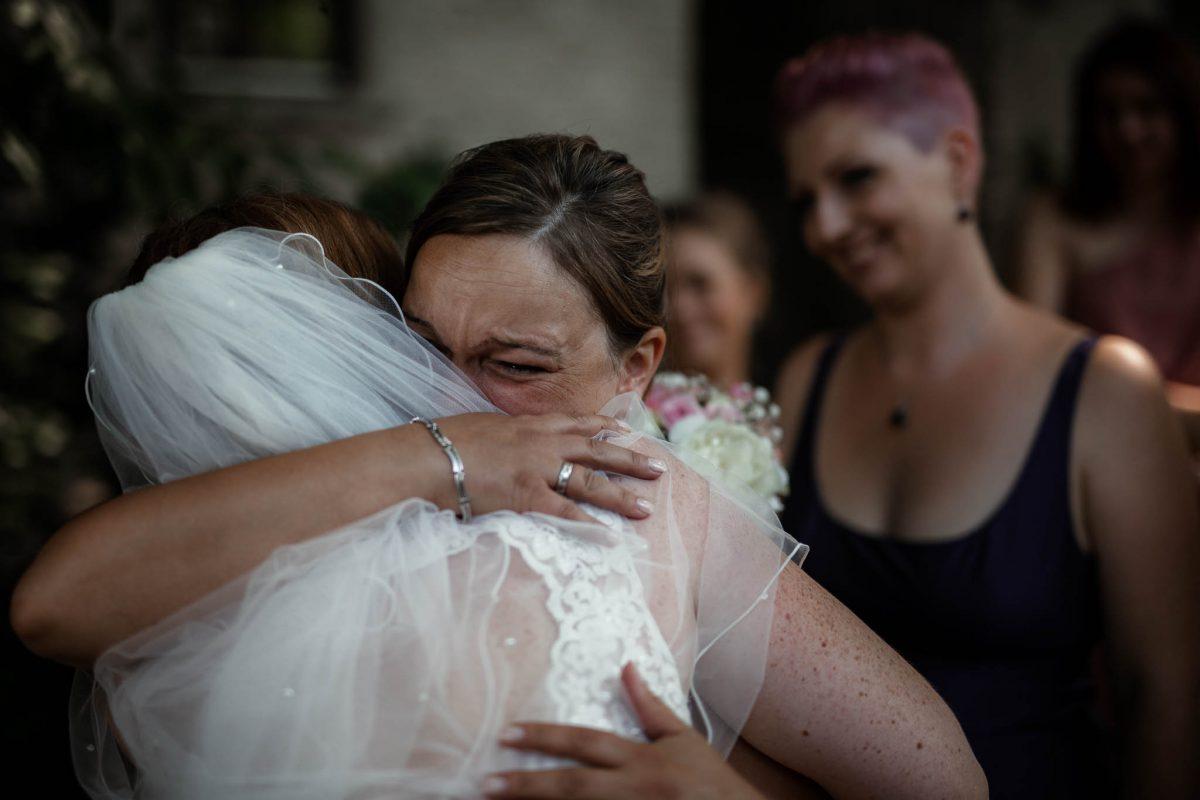 Hochzeitsfotograf Mainz: Gratulationen der Hochzeitsgäste