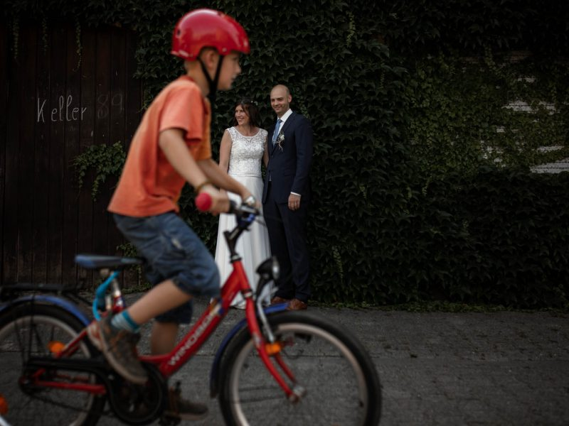 Hochzeit in Guntersblum: Trauung im Domhof