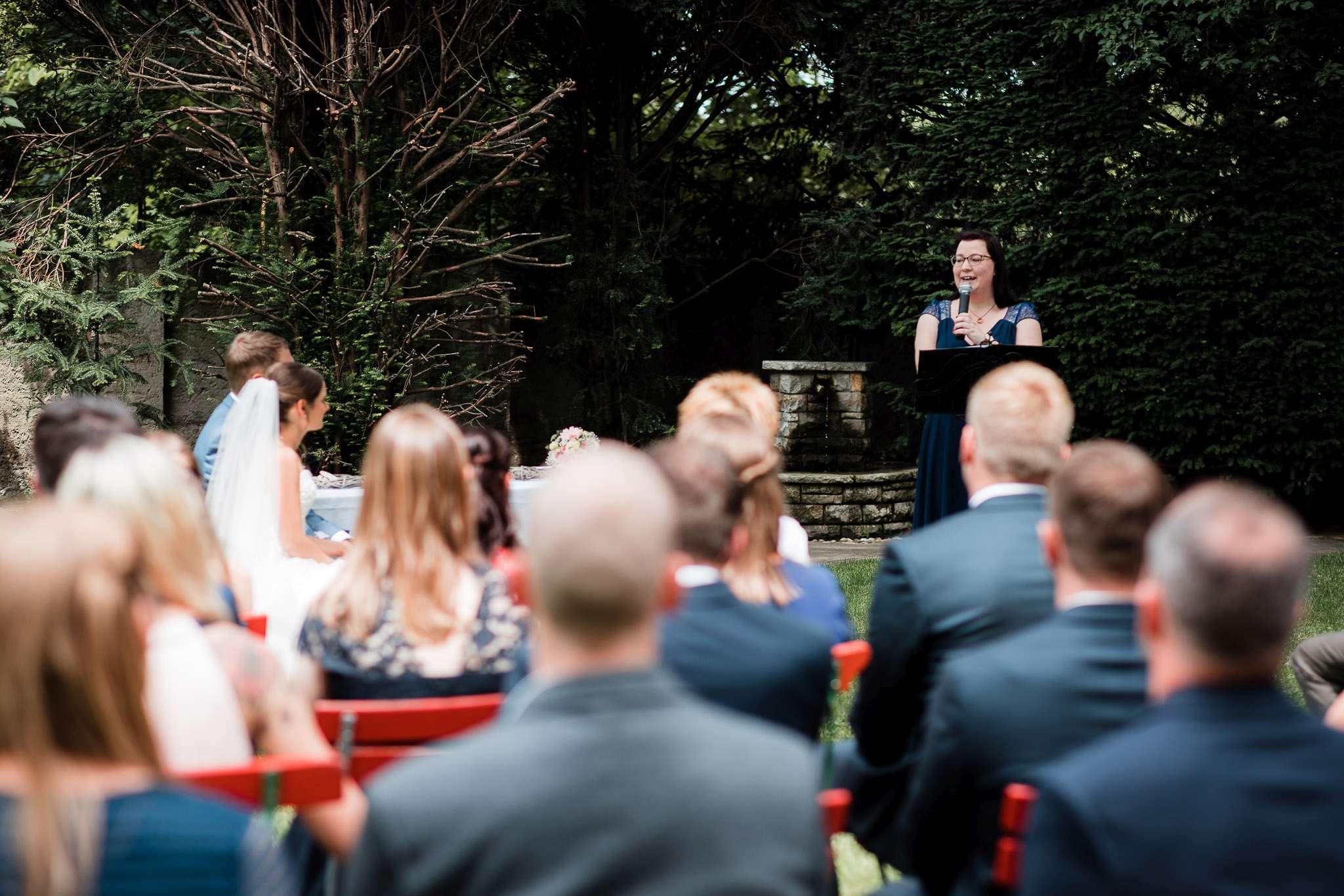 Hochzeitsreportage Undenheim: freie Trauung