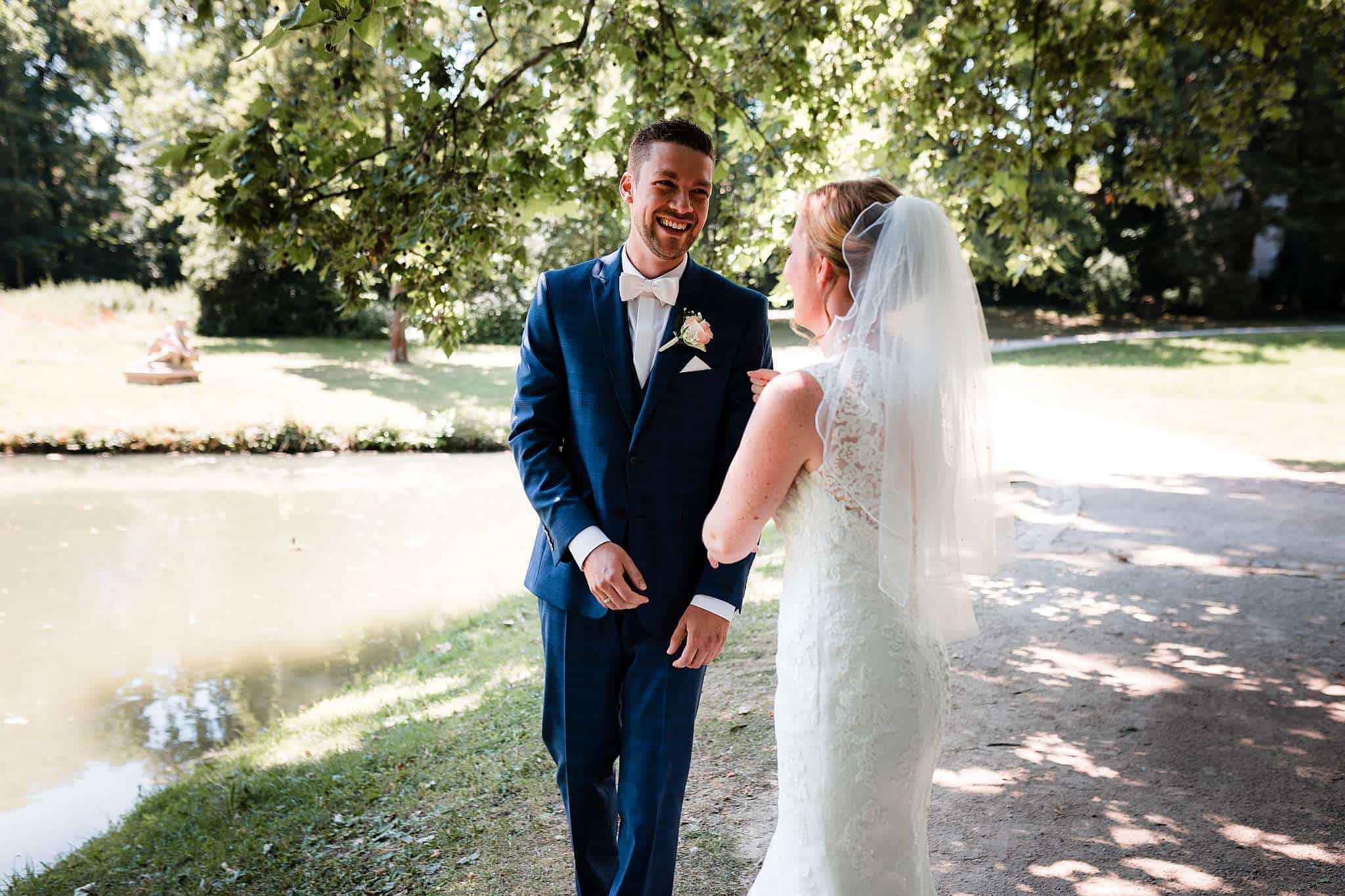 Rumalbern beim Hochzeitsshooting