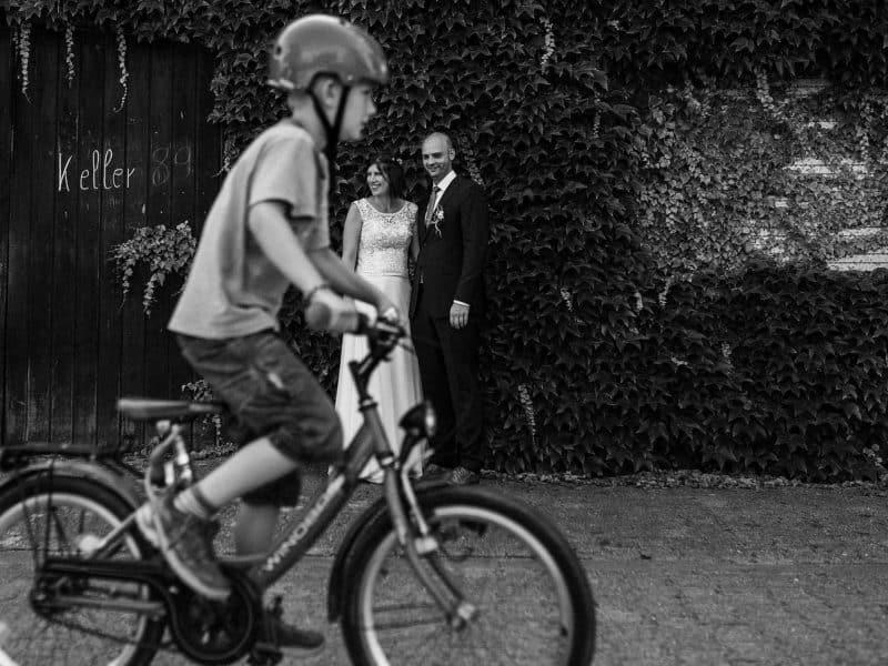 Als Hochzeitsfotograf in Guntersblum: Trauung im Domhof