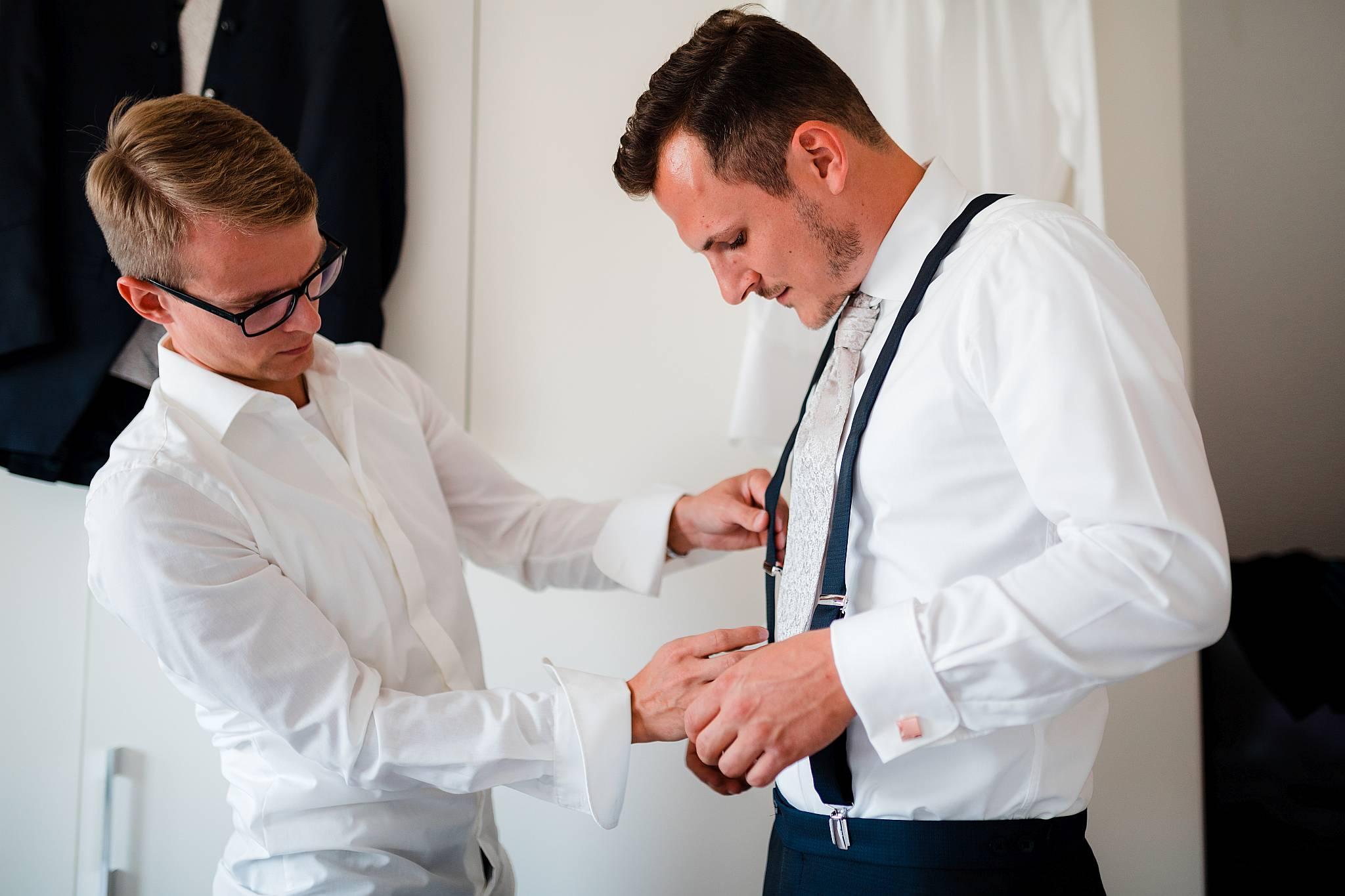 Accessoires Bräutigam Hochzeit
