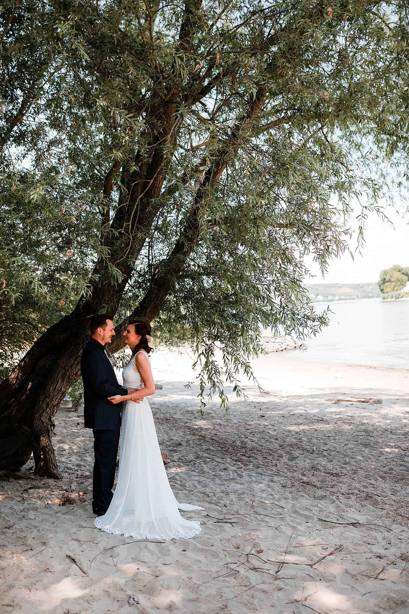 Hochzeitsfotos Strandbad Oppenheim