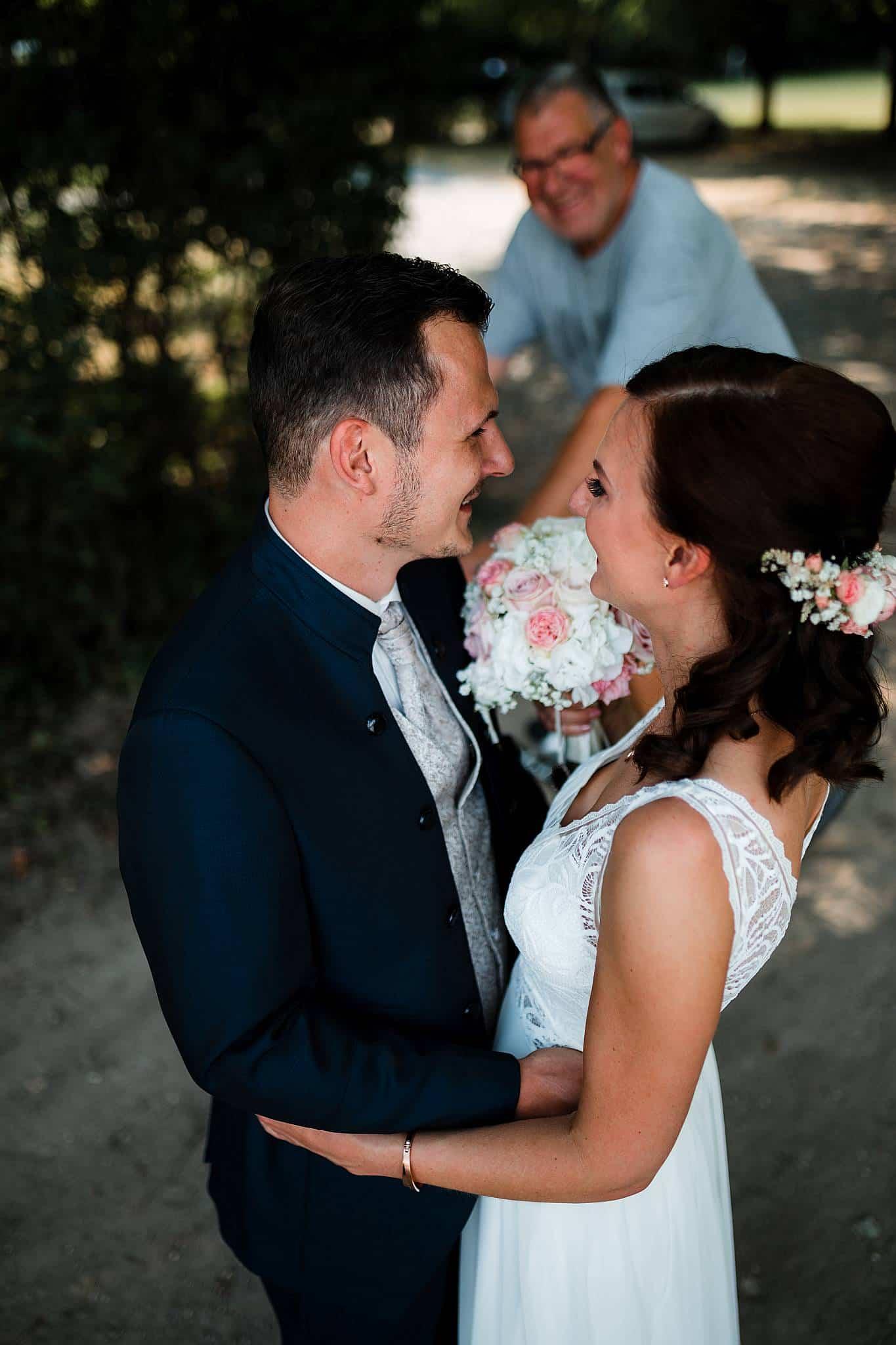 Hochzeitsfotos Wald Oppenheim