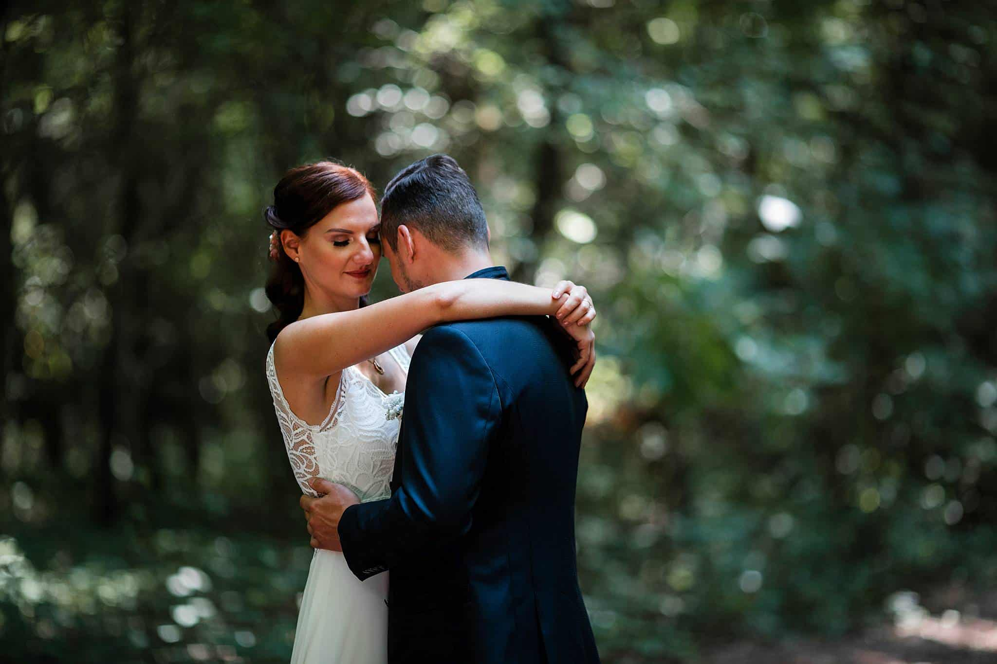 Brautpaarshooting Wald