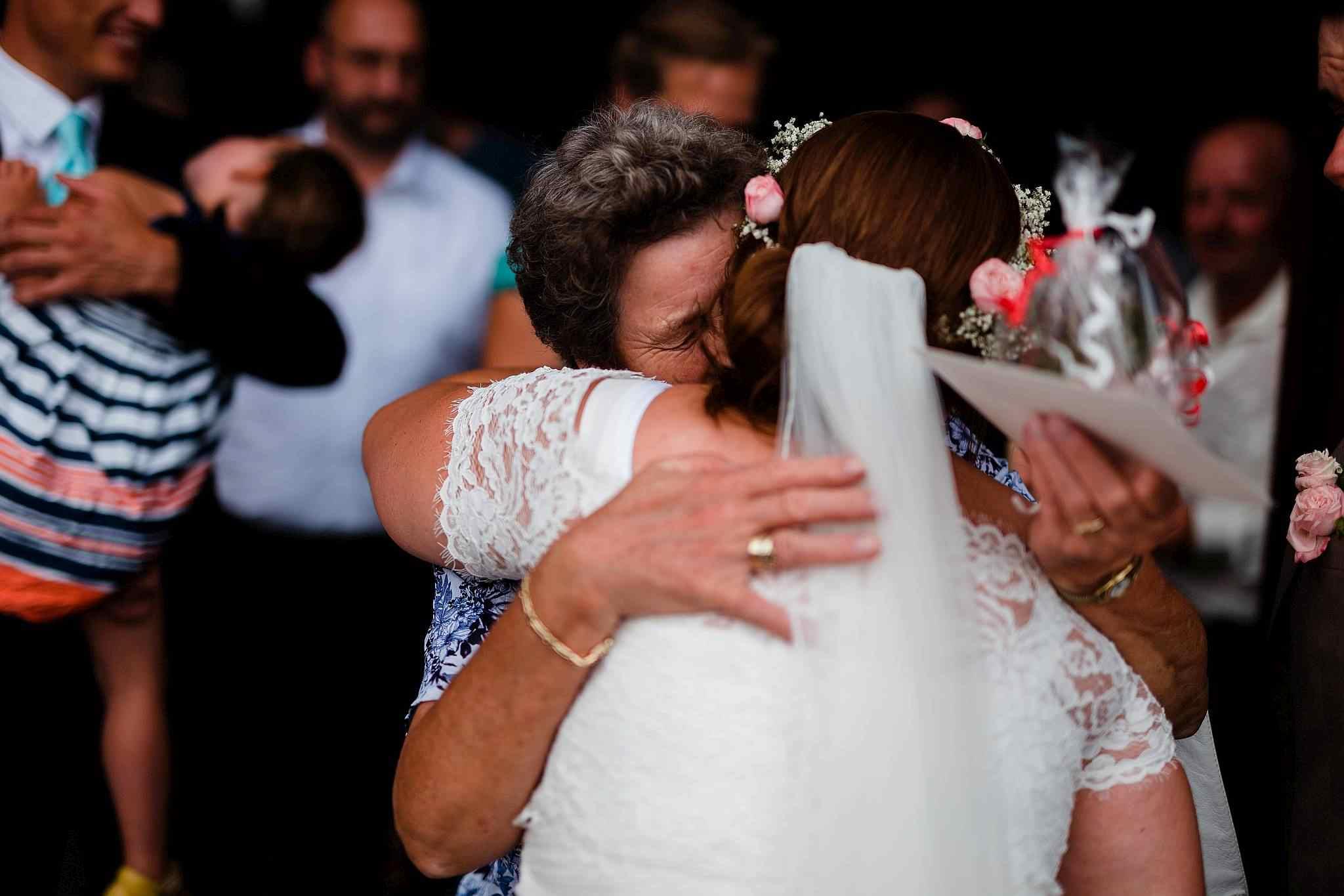 Emotionale Hochzeitsgäste