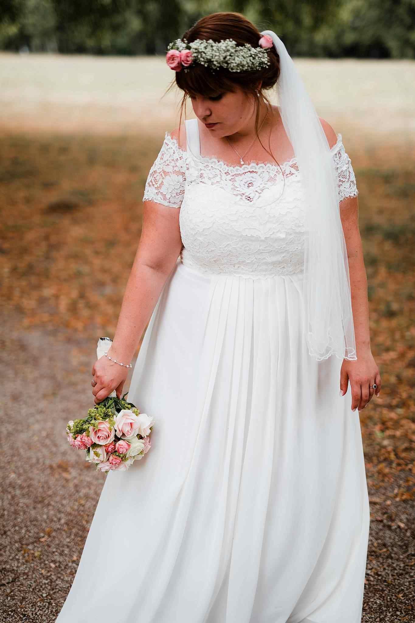 Die Braut im Wormser Park
