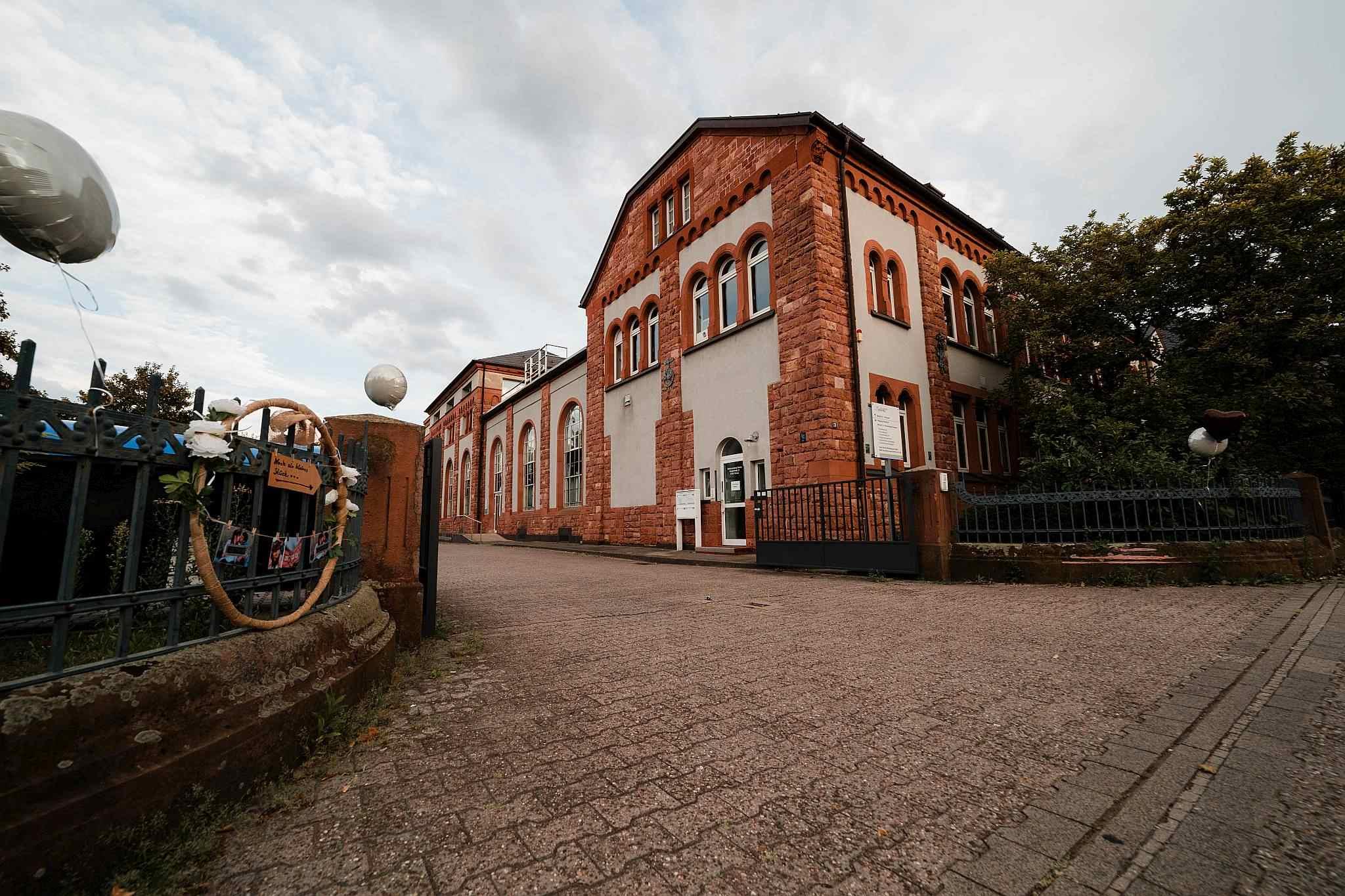 Die Traulocation: Im alten Kesselhaus in Worms findet die freie Trauung statt