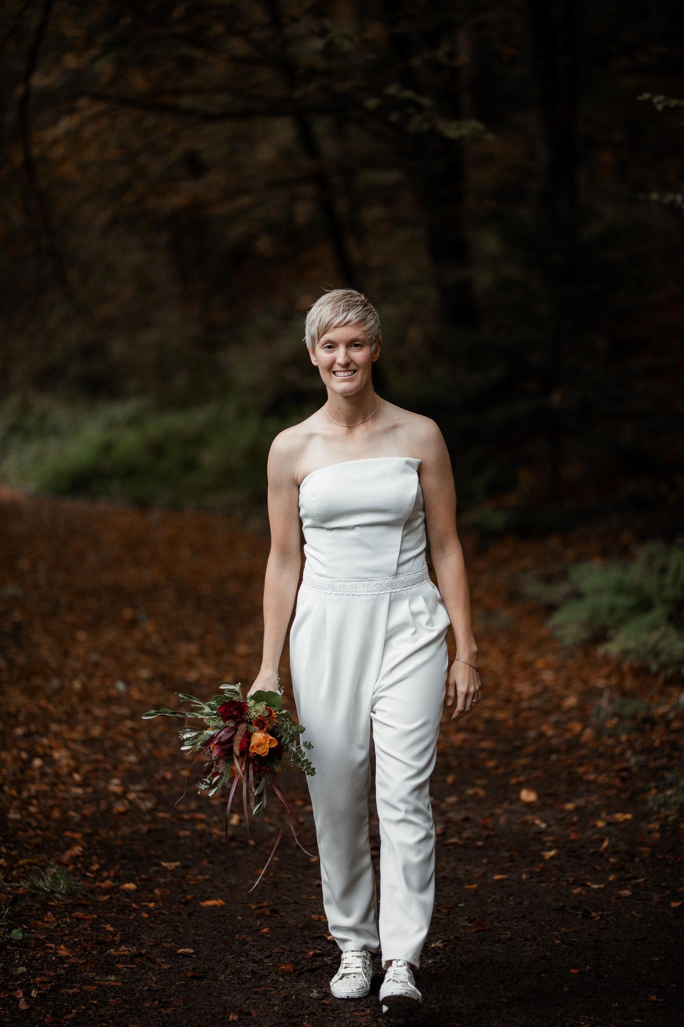 Hochzeitsfotos im Karlstal bei Trippstadt - Maja und Nathalie 14