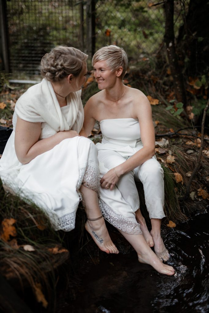 After-Wedding-Shooting im Karlstal - Maja und Nathalie 7
