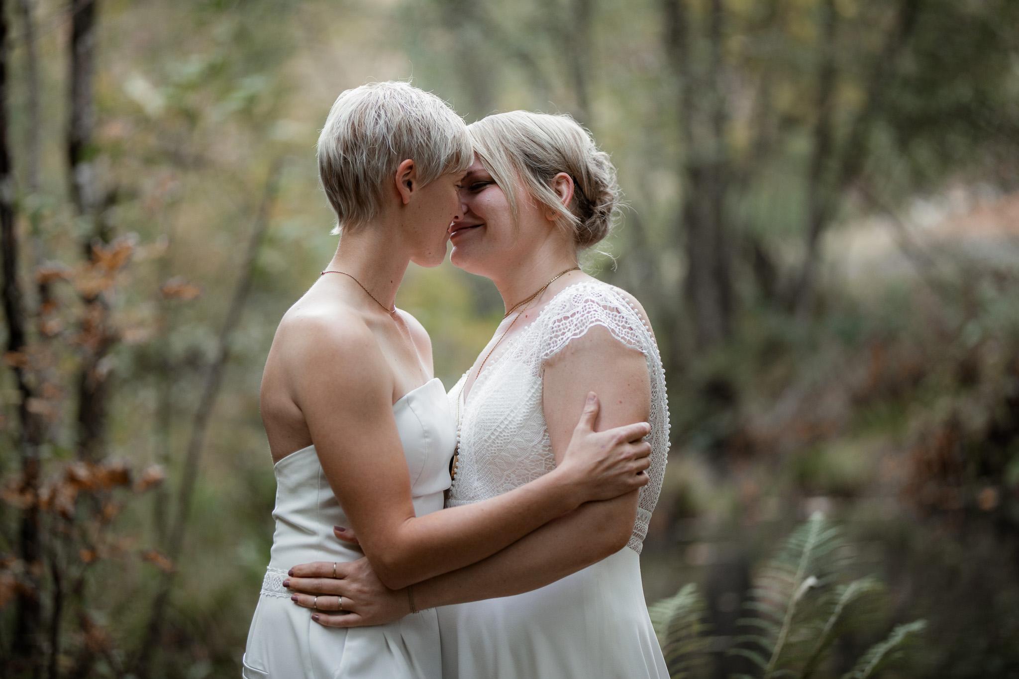 Hochzeitsfotos im Karlstal bei Trippstadt - Maja und Nathalie 29