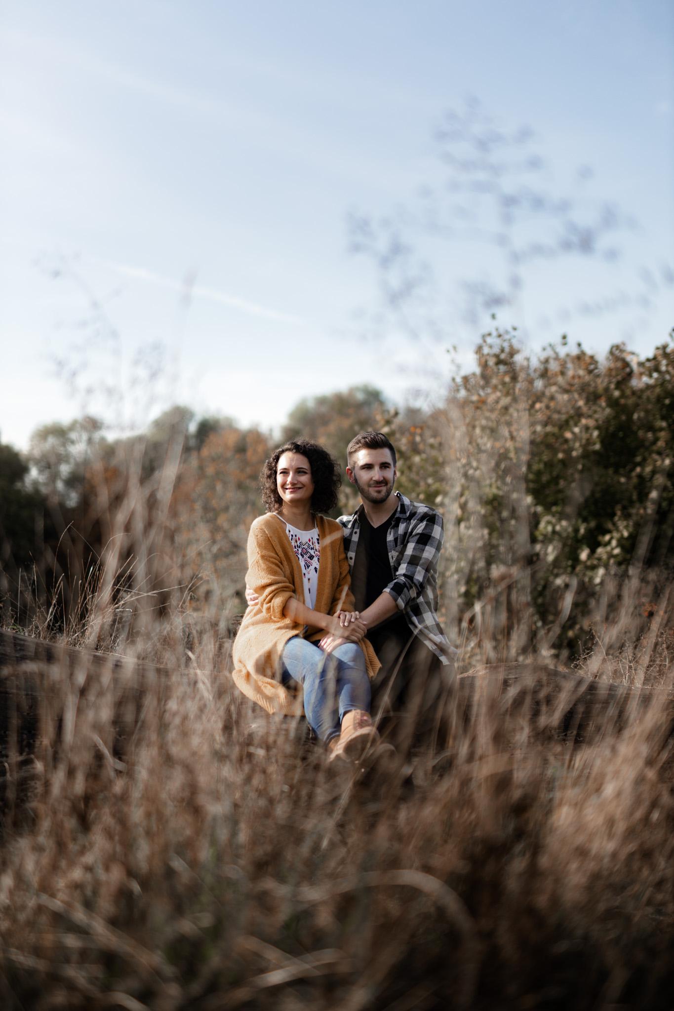 Paarfotos in Undenheim: Sarah und Patrick 7