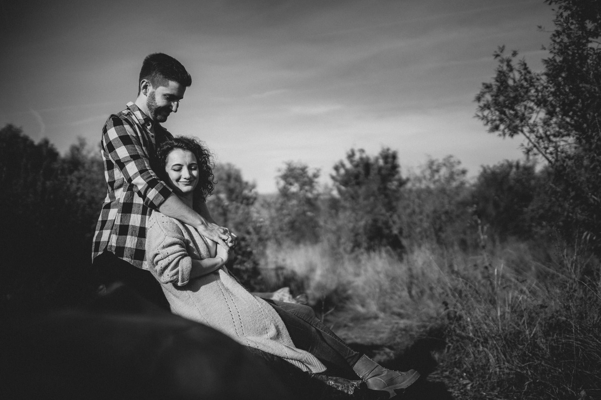Paarfotos in Undenheim: Sarah und Patrick 19
