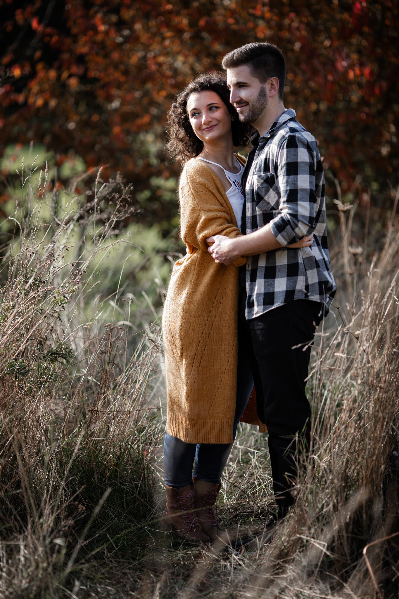 Paarfotos in Undenheim: Sarah und Patrick 4