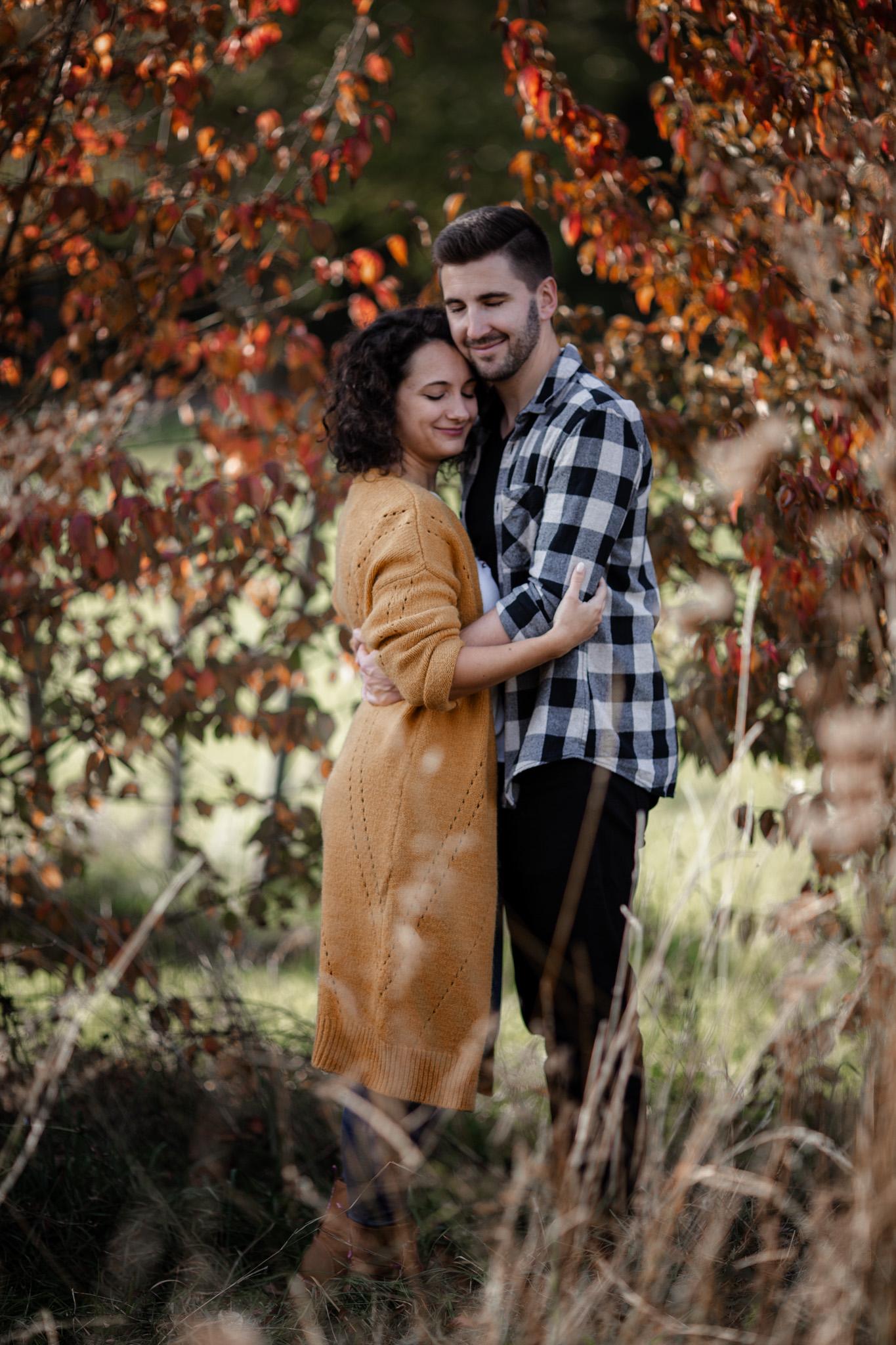 Paarfotos in Undenheim: Sarah und Patrick 2