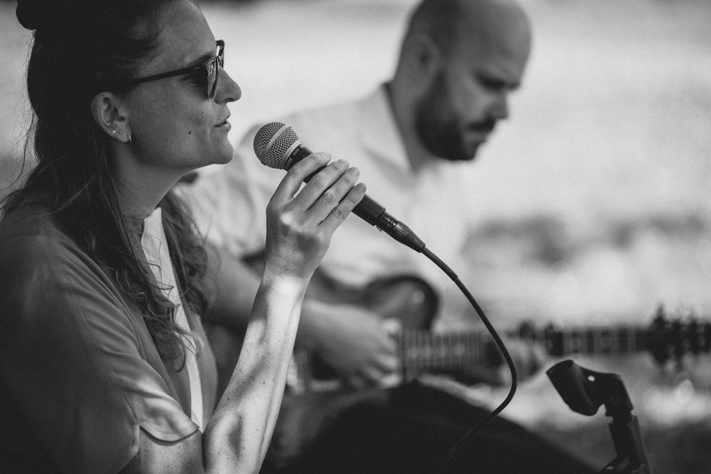 Live-Musik während der freien Trauung