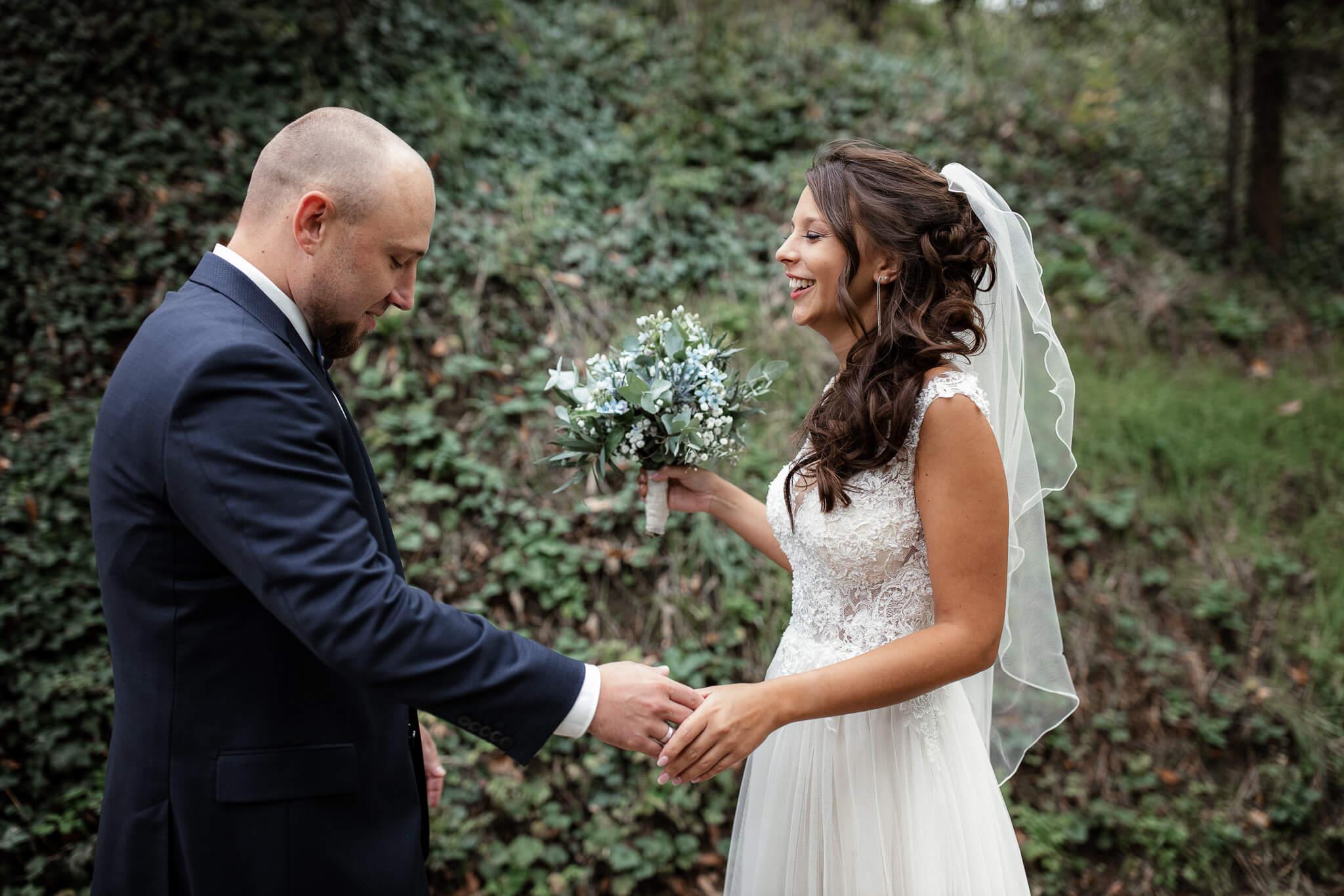 Als Hochzeitsfotograf in Mörstadt - Jan und Anika 2
