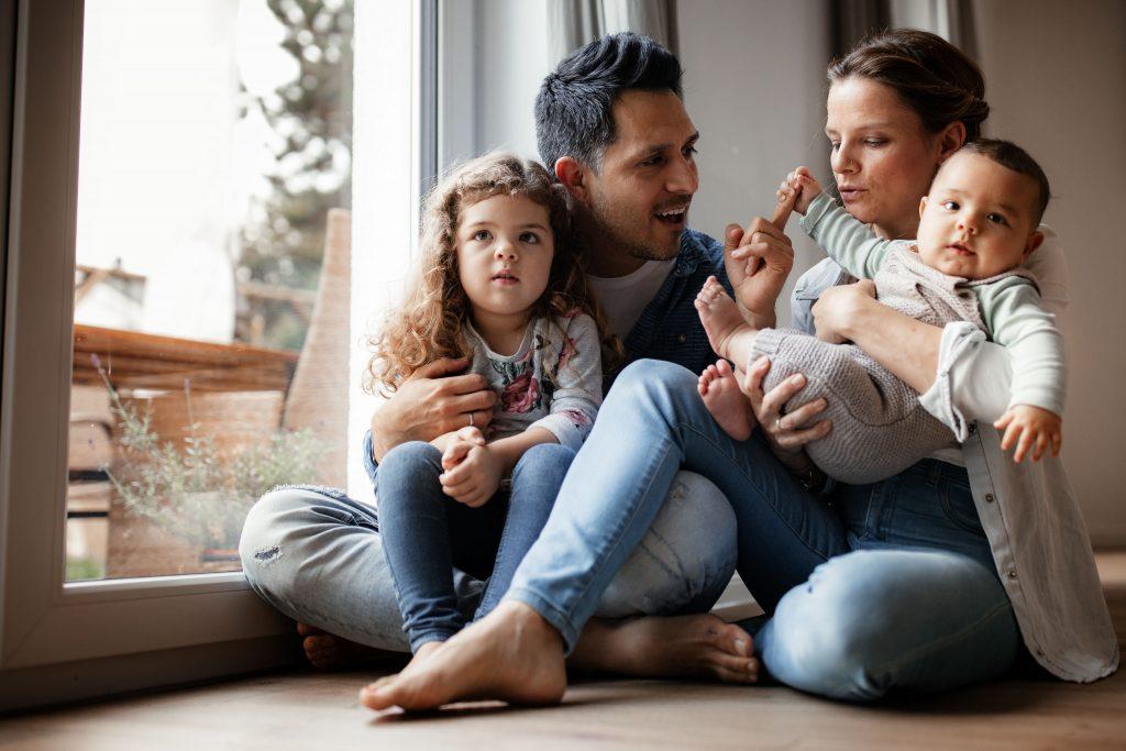 Familienfotos zu Hause: Homestory in der Pfalz 2