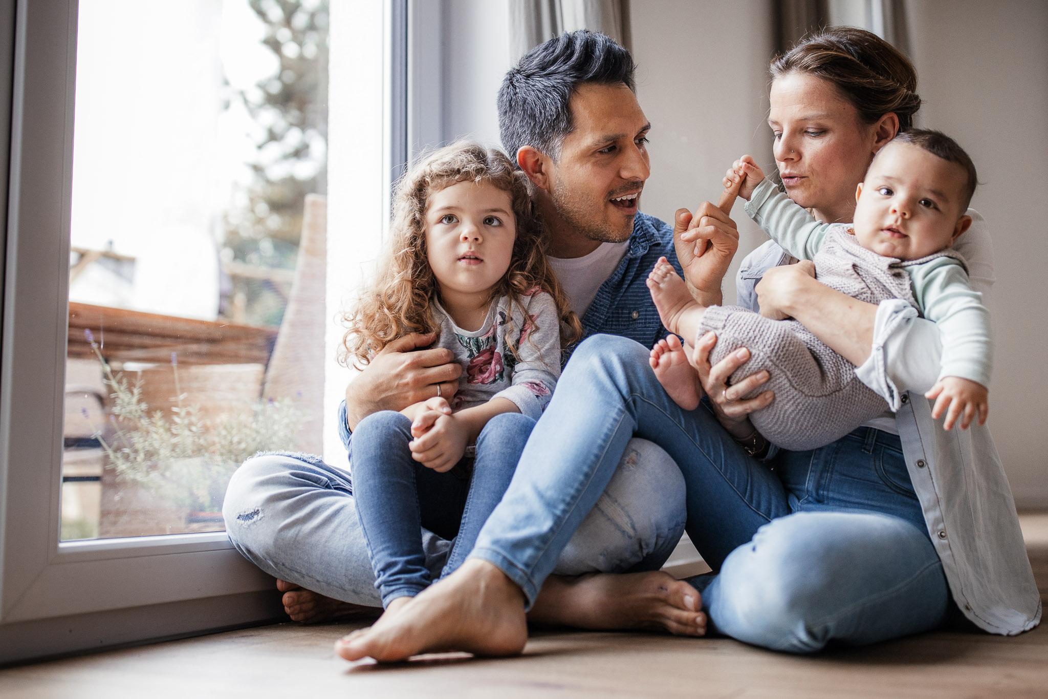 Familienfotos Worms: Homestory mit Diego, Elke und den Kids 4